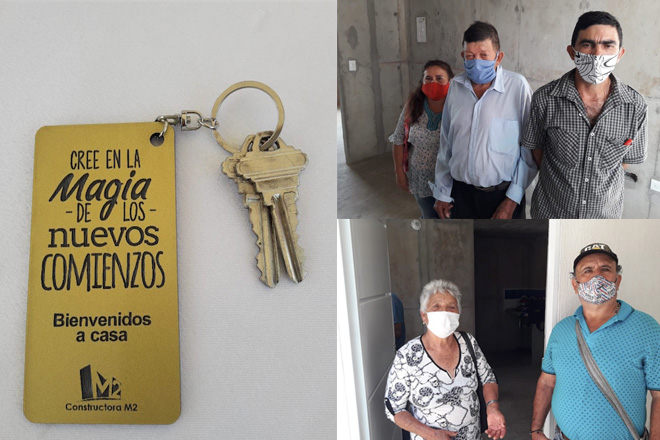 Fondo Adaptación entregó viviendas a población vulnerable en San Gil, Santander