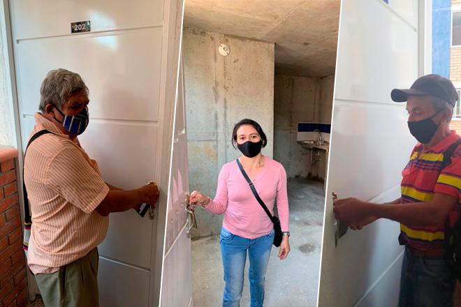 Fondo Adaptación finalizó entrega de viviendas  en San Gil, Santander