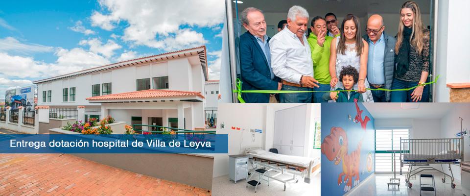 Fondo Adaptación entregó equipos para el nuevo hospital San Francisco de Villa de Leyva