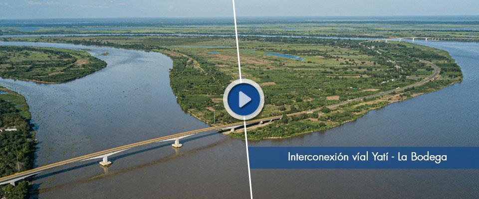 Interconexión Vial Yatí - Bodega