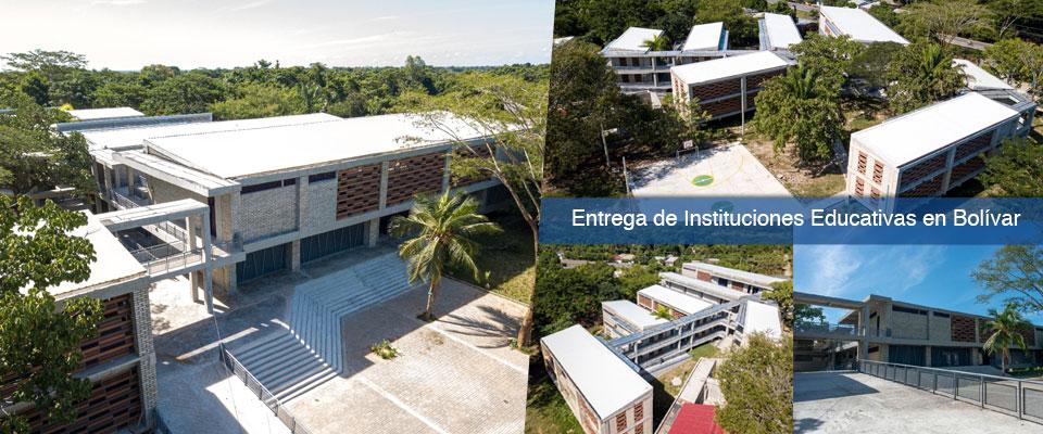 Entrega de Instituciones Educativas en Bolívar