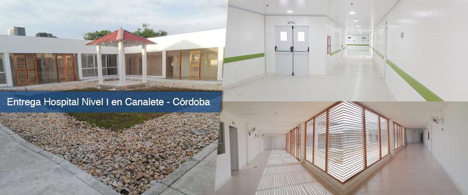 Fondo Adaptación entrega hospital nivel I en el municipio de Canalete, Córdoba