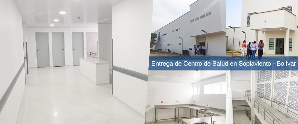 Con inversión que supera los $9.500 millones, Fondo Adaptación entregó nuevo centro de salud para Soplaviento, Bolívar