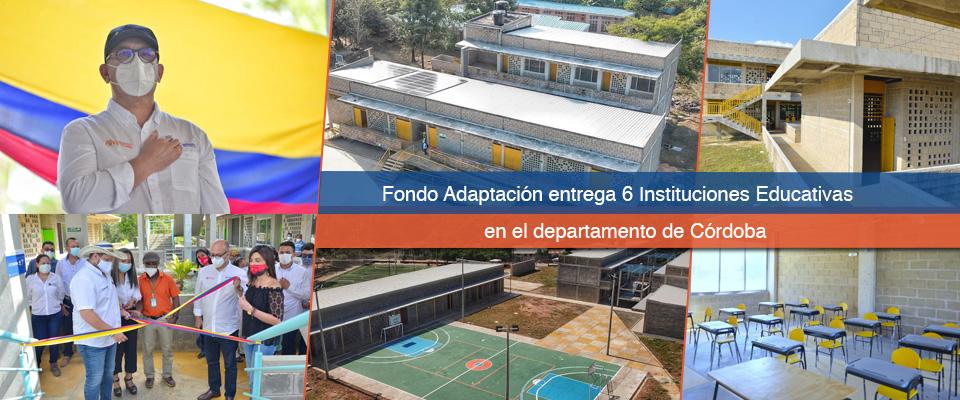 Entrega de colegios hizo el Gobierno Nacional y autoridades locales en Córdoba