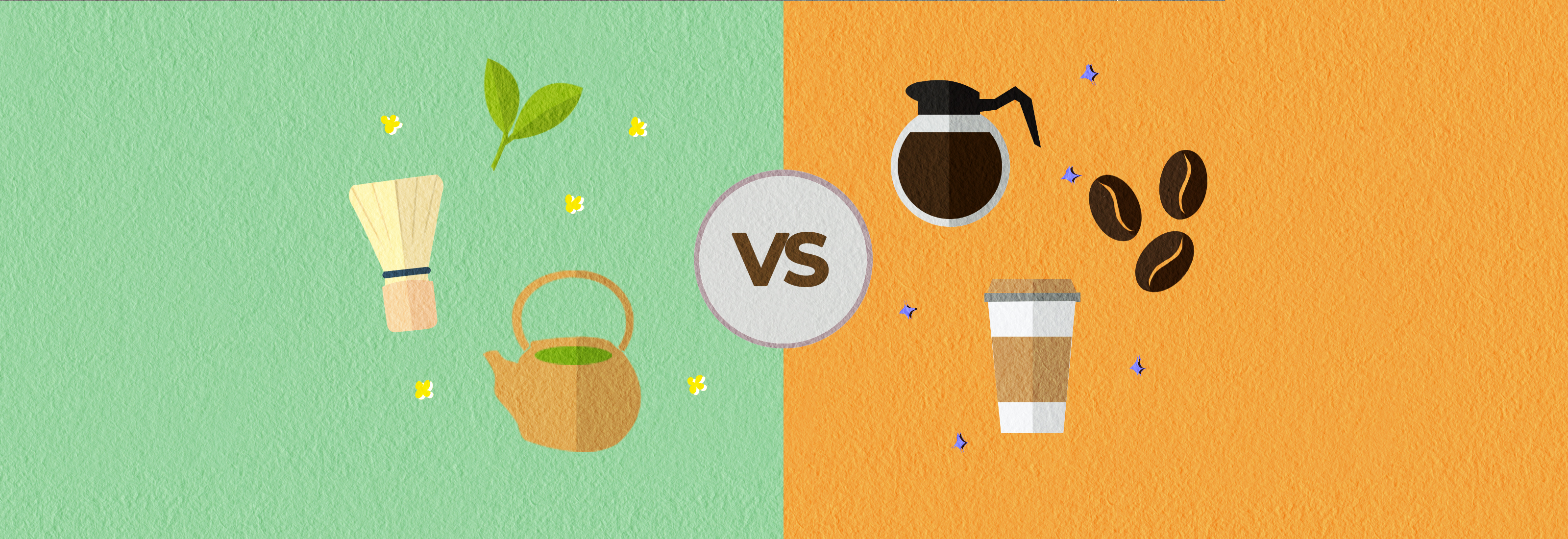 Coffee vs Matcha Tea Caffeine