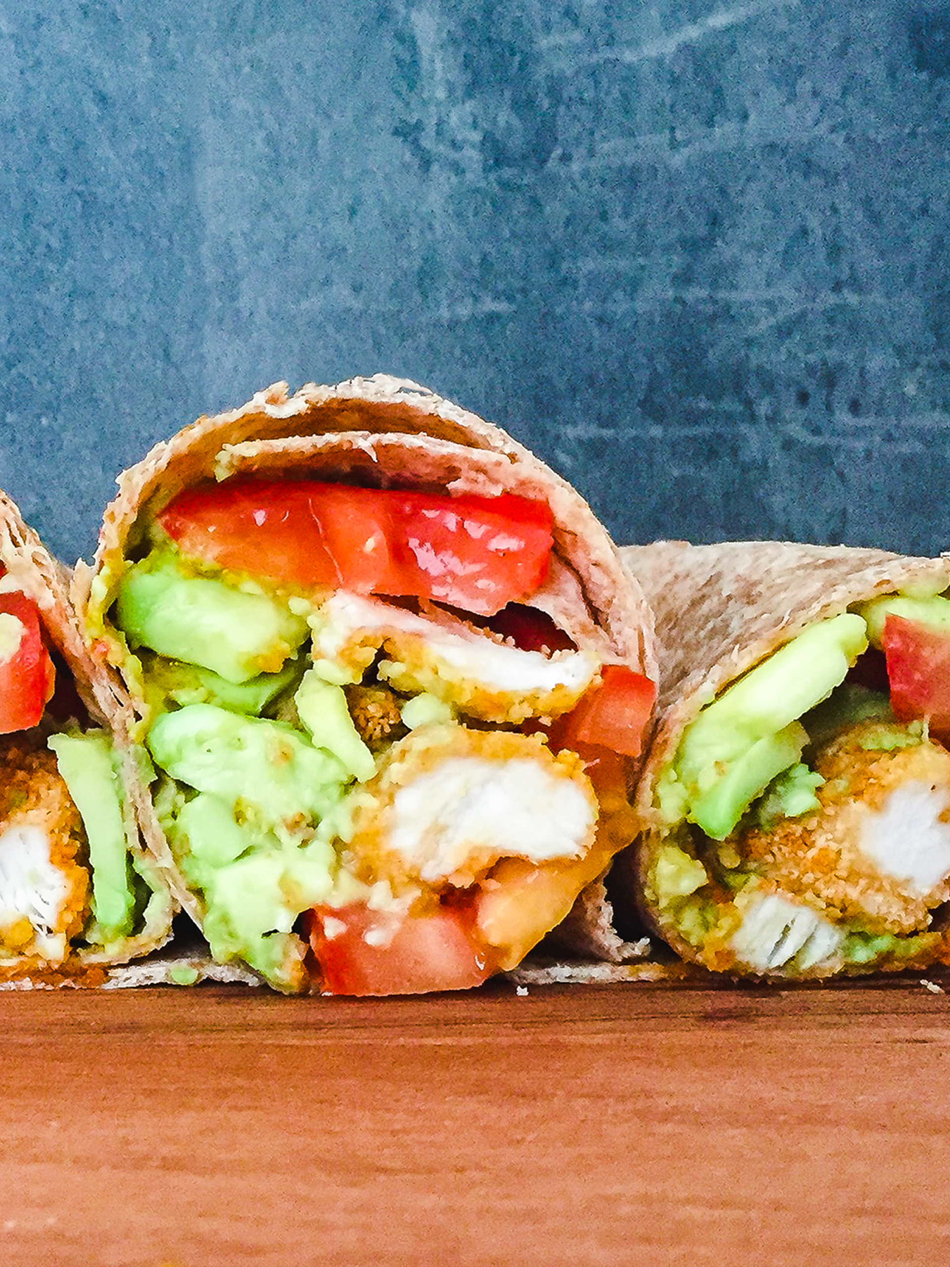Low Carb Chicken Wrap with Avocado Preview