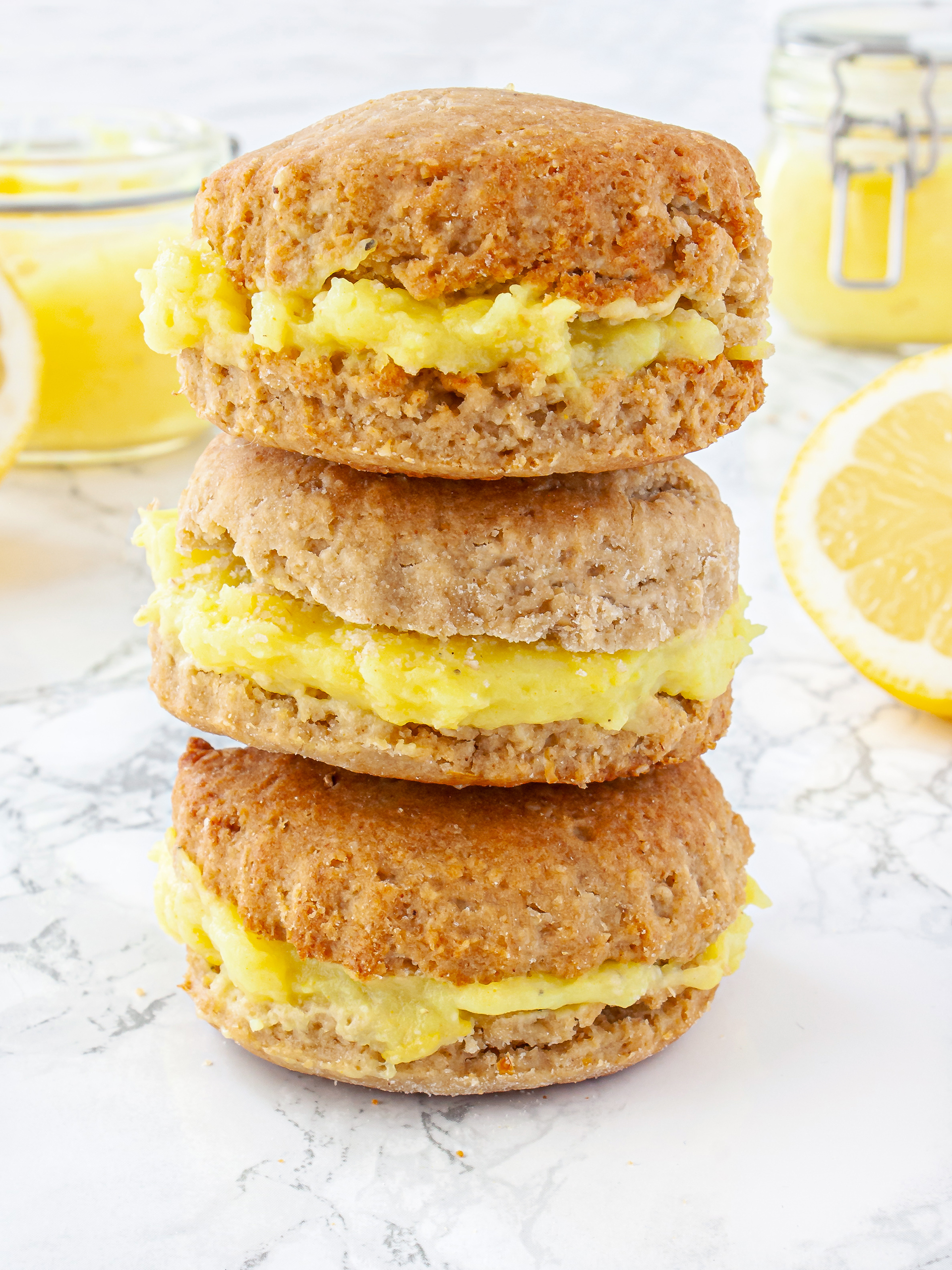 Gluten Free Vegan Lemonade Scones