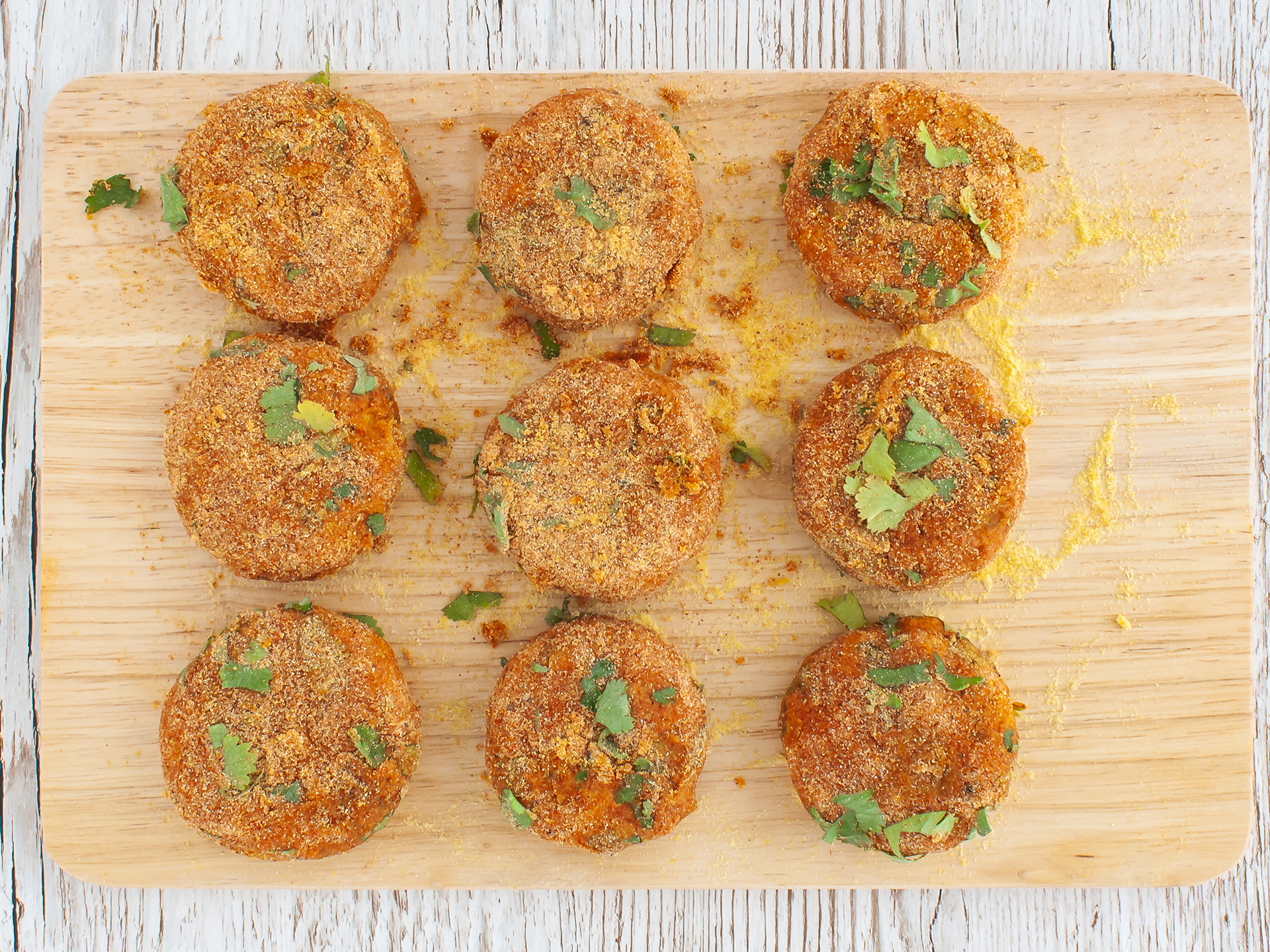 Step 3.2 of Baked Lentil and Sweet Potato Croquettes
