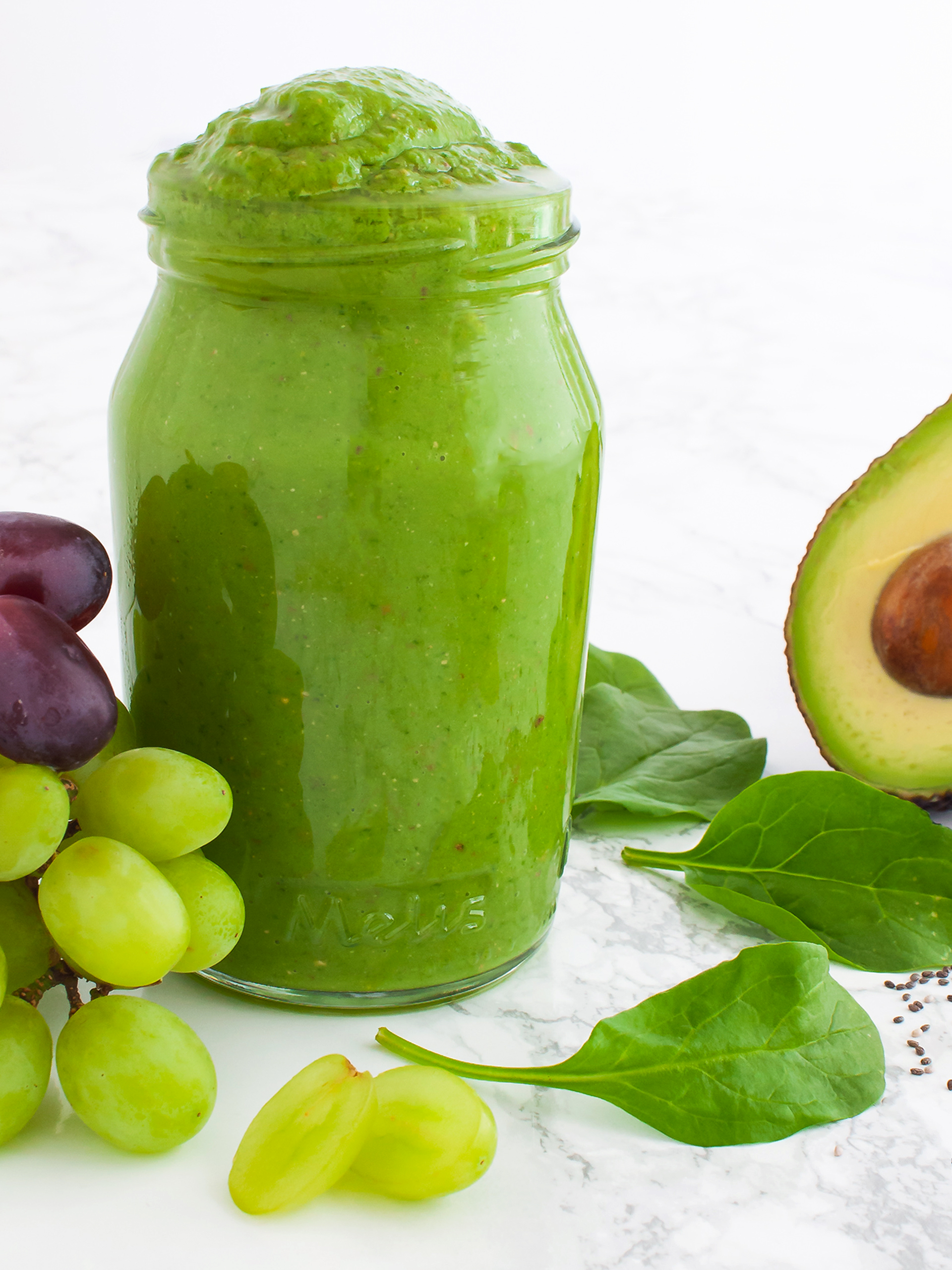 Vegan Avocado Weight Loss Smoothie