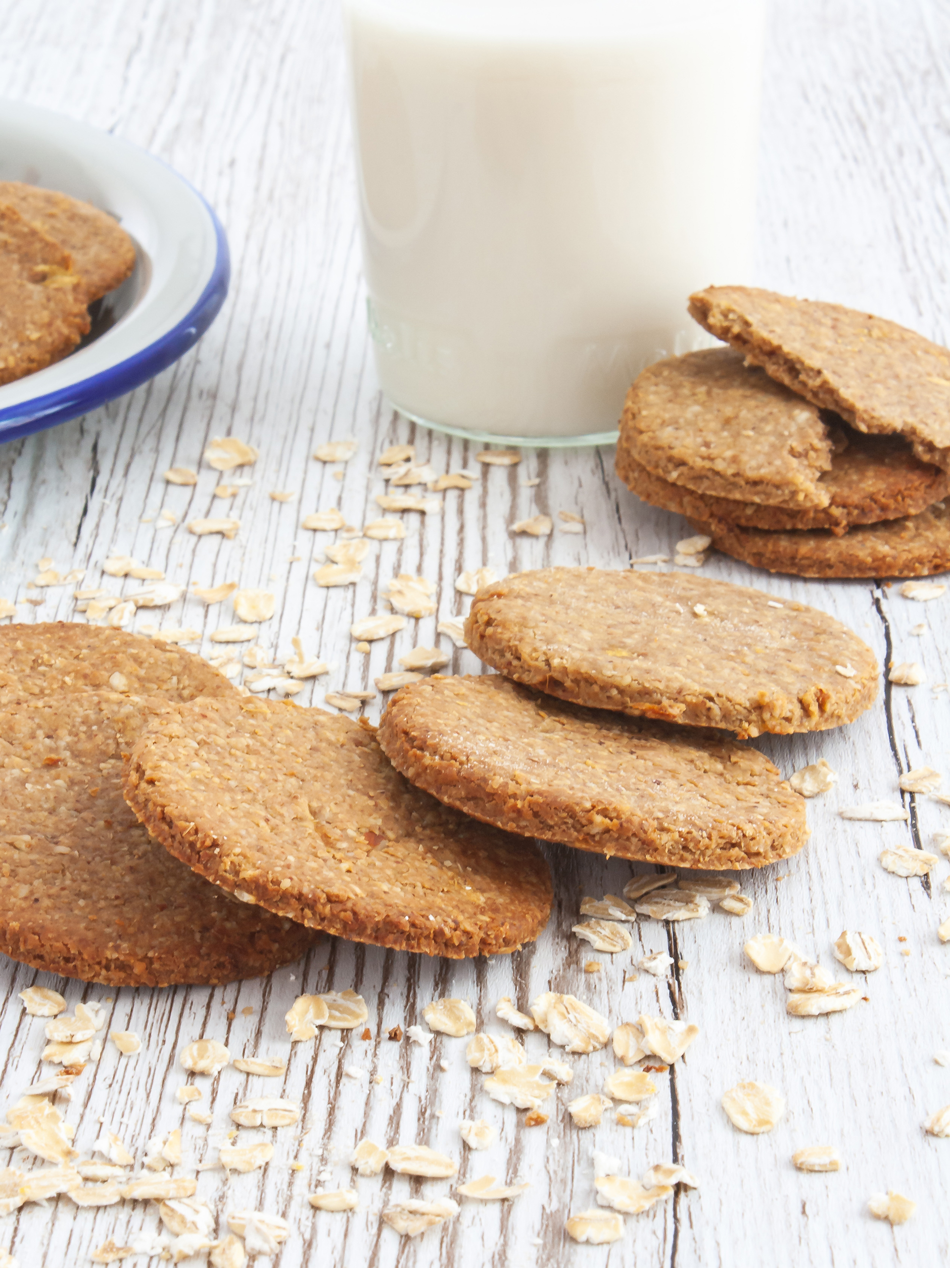Gluten Free Oatmeal Digestive Biscuits Preview