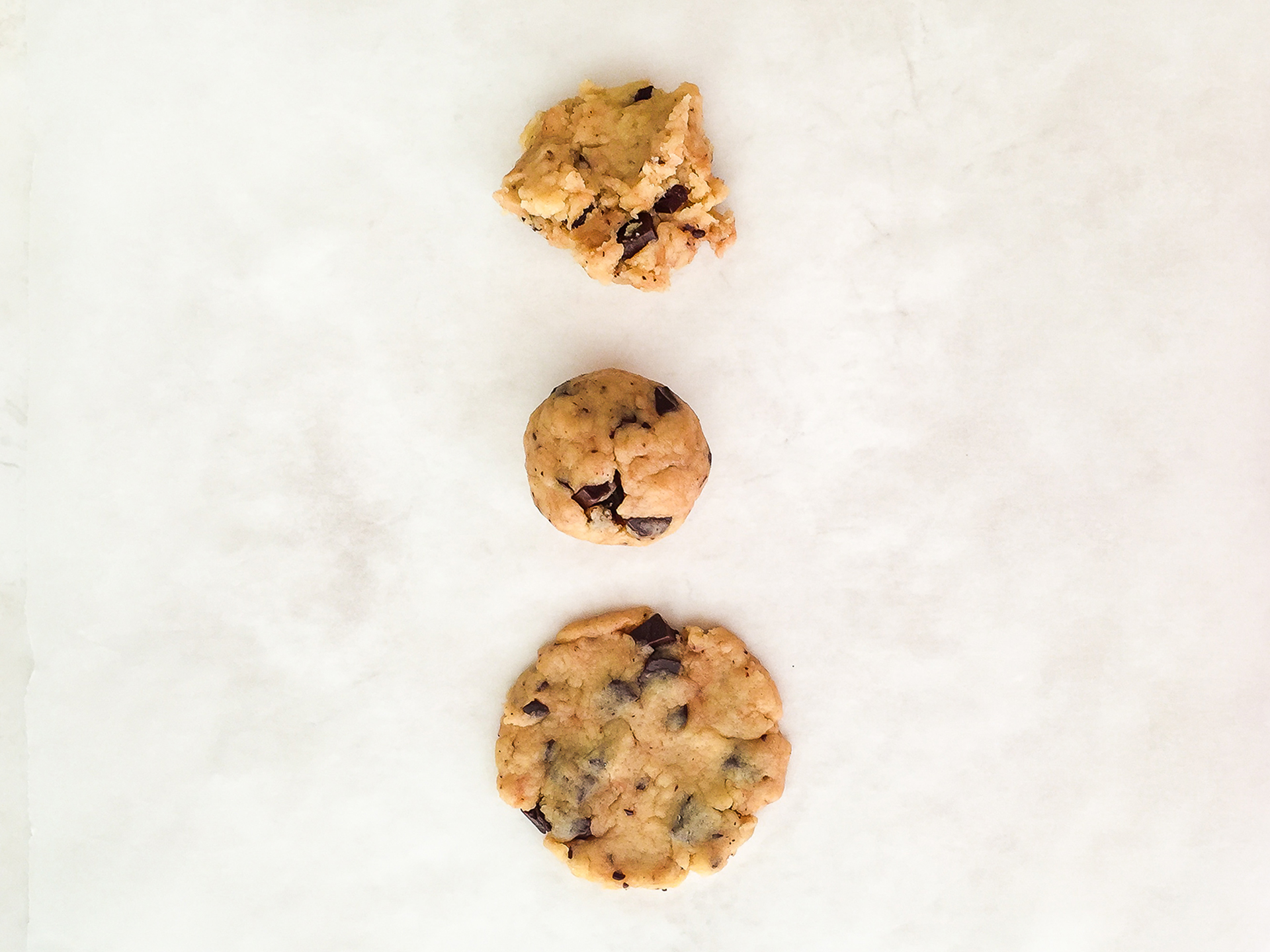 Step 3.1 of Gluten Free Oat Flour Chocolate Chip Cookies