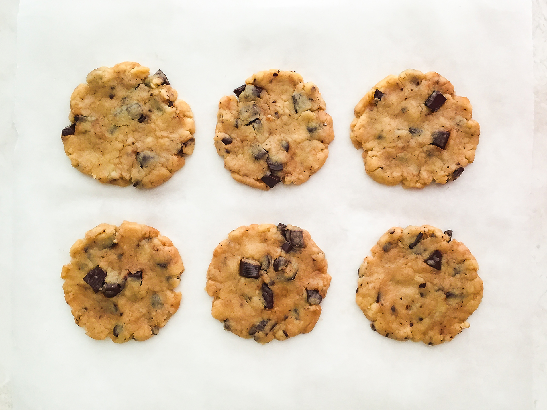 Step 3.2 of Gluten Free Oat Flour Chocolate Chip Cookies