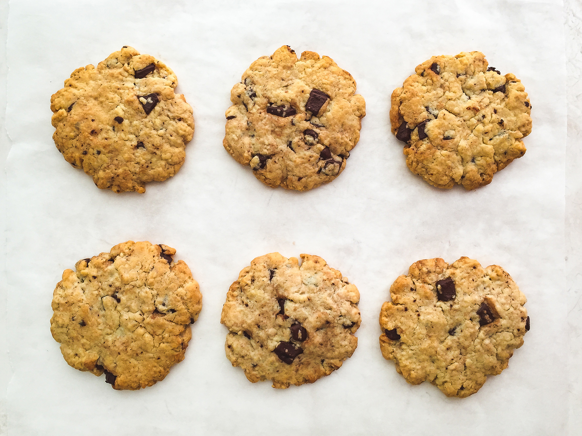 Step 4.1 of Gluten Free Oat Flour Chocolate Chip Cookies