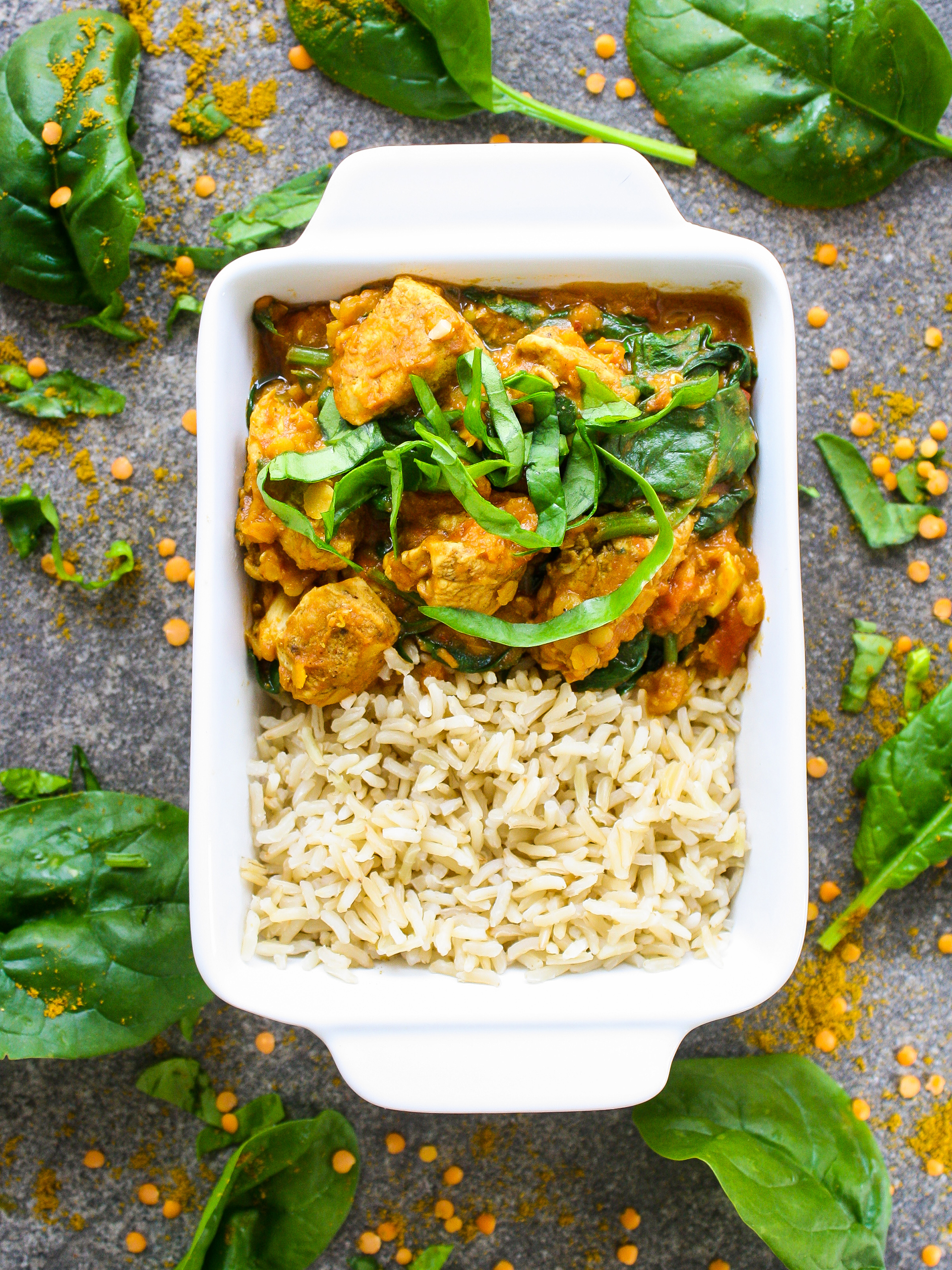 Dairy-free Healthy Simple Chicken Saag Recipe Preview