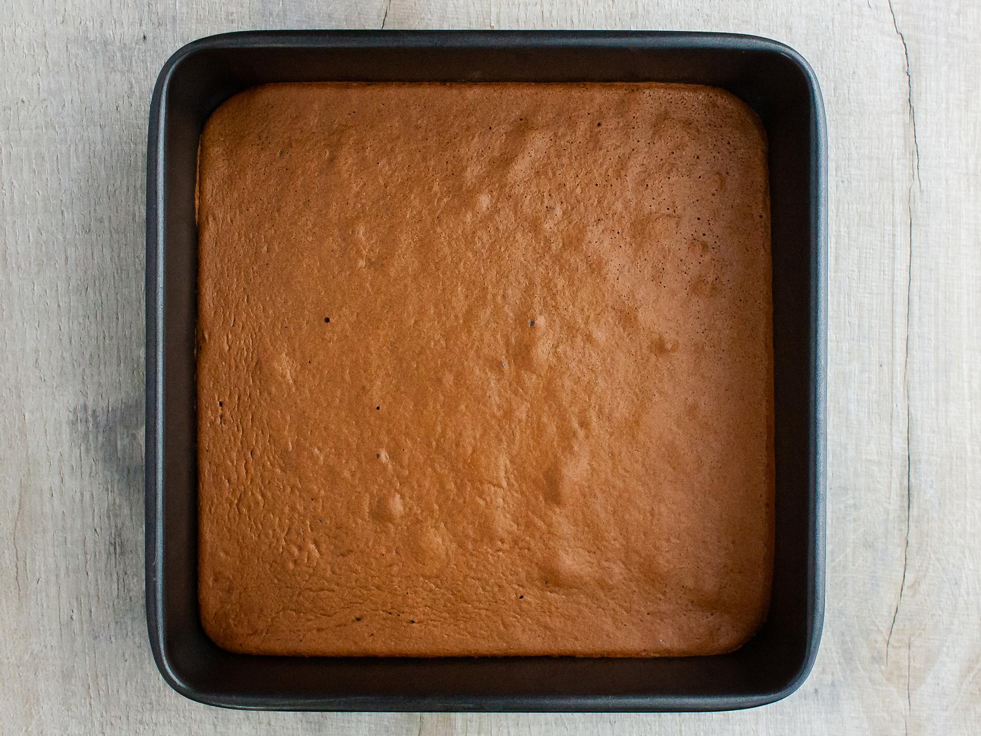 Step 3.2 of Dairy Free Chocolate Sandwich Cake Bar