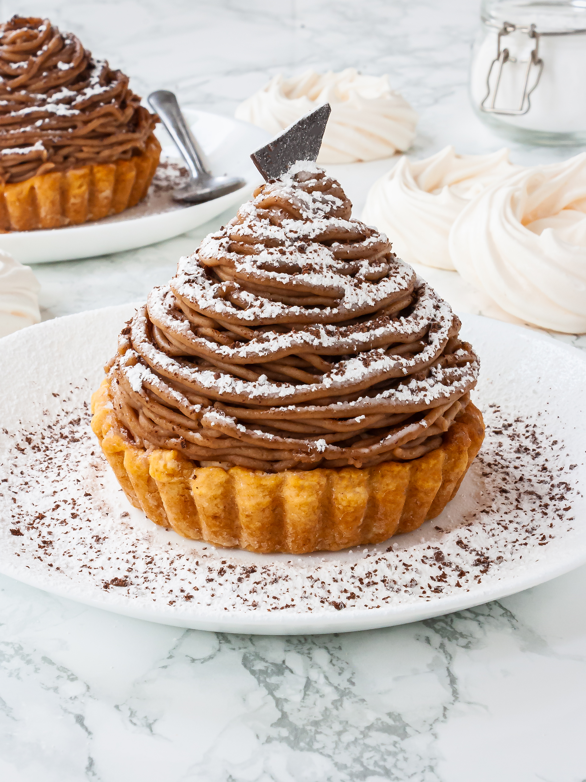 Mont Blanc Tart Recipe Preview