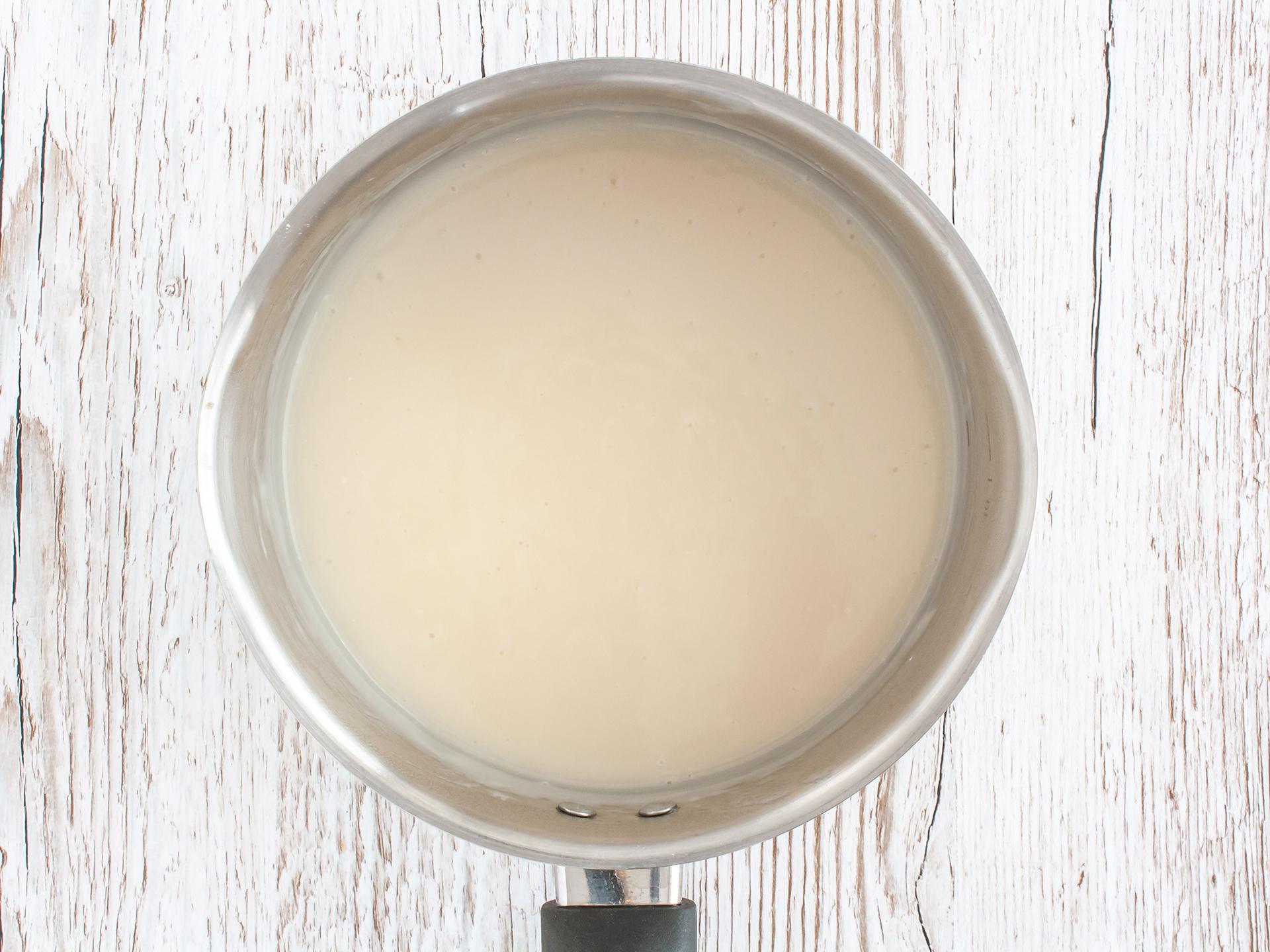 Step 2.1 of Eggless Almond Milk Pastry Cream