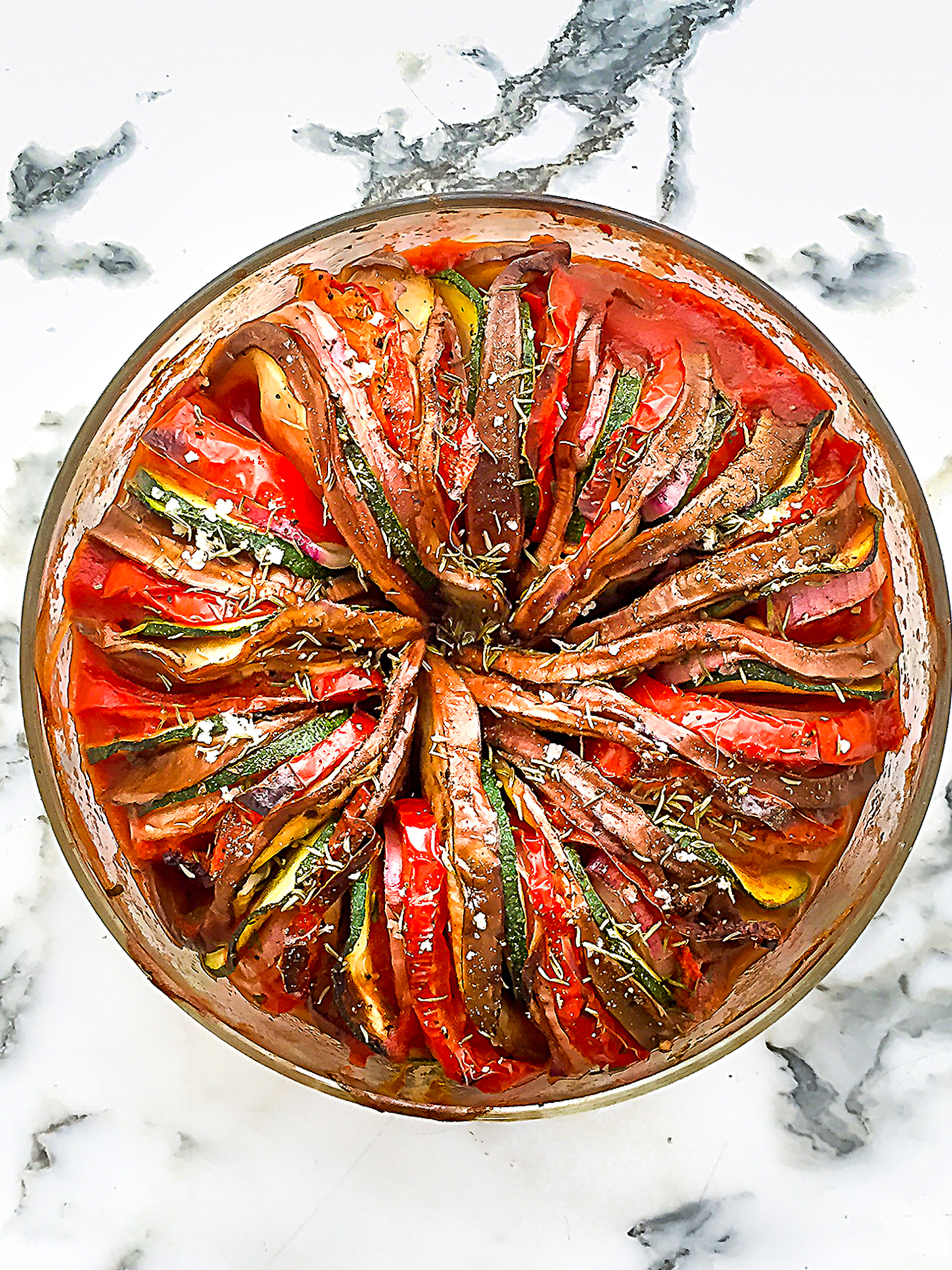 Easy and quick oven baked ratatouille Thumbnail