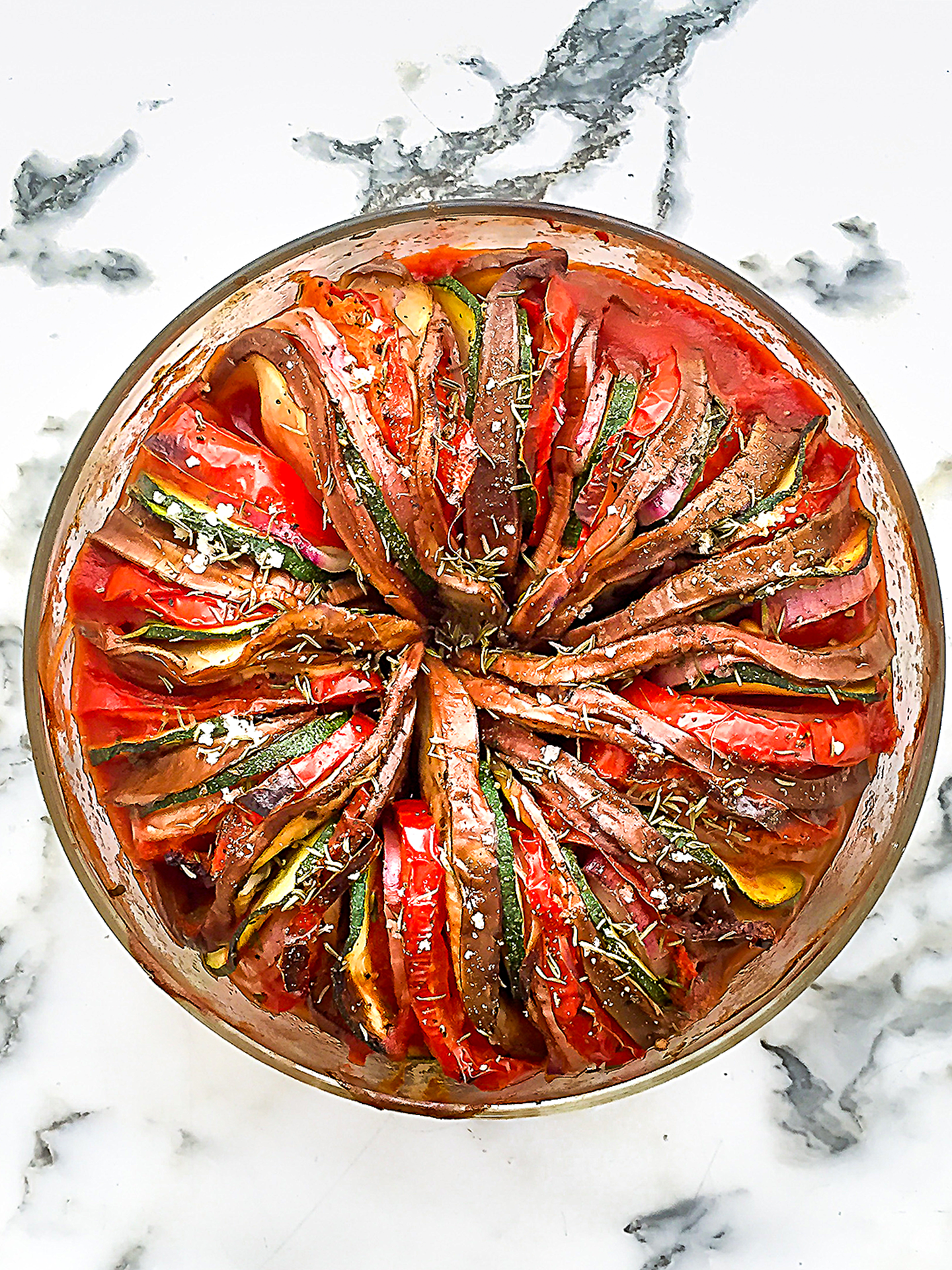 Easy and quick oven baked ratatouille Preview