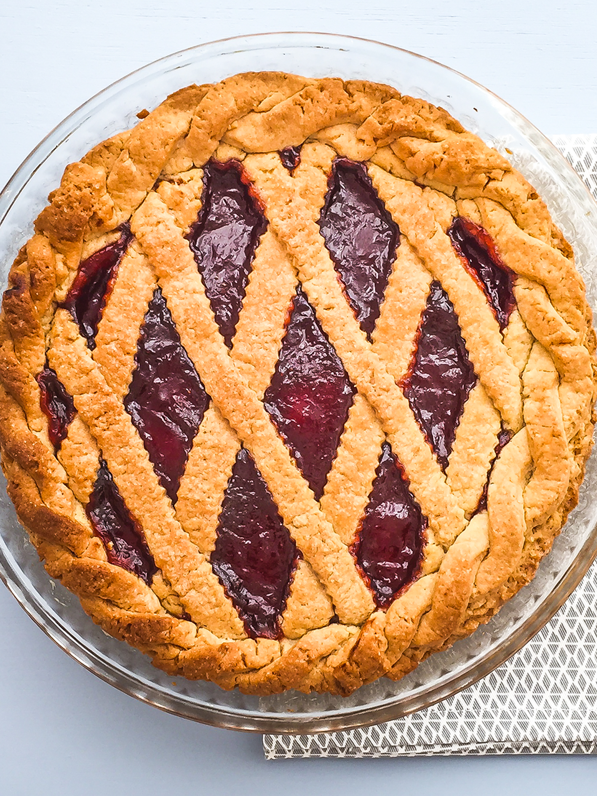 Strawberry Jam Pie Recipe Thumbnail