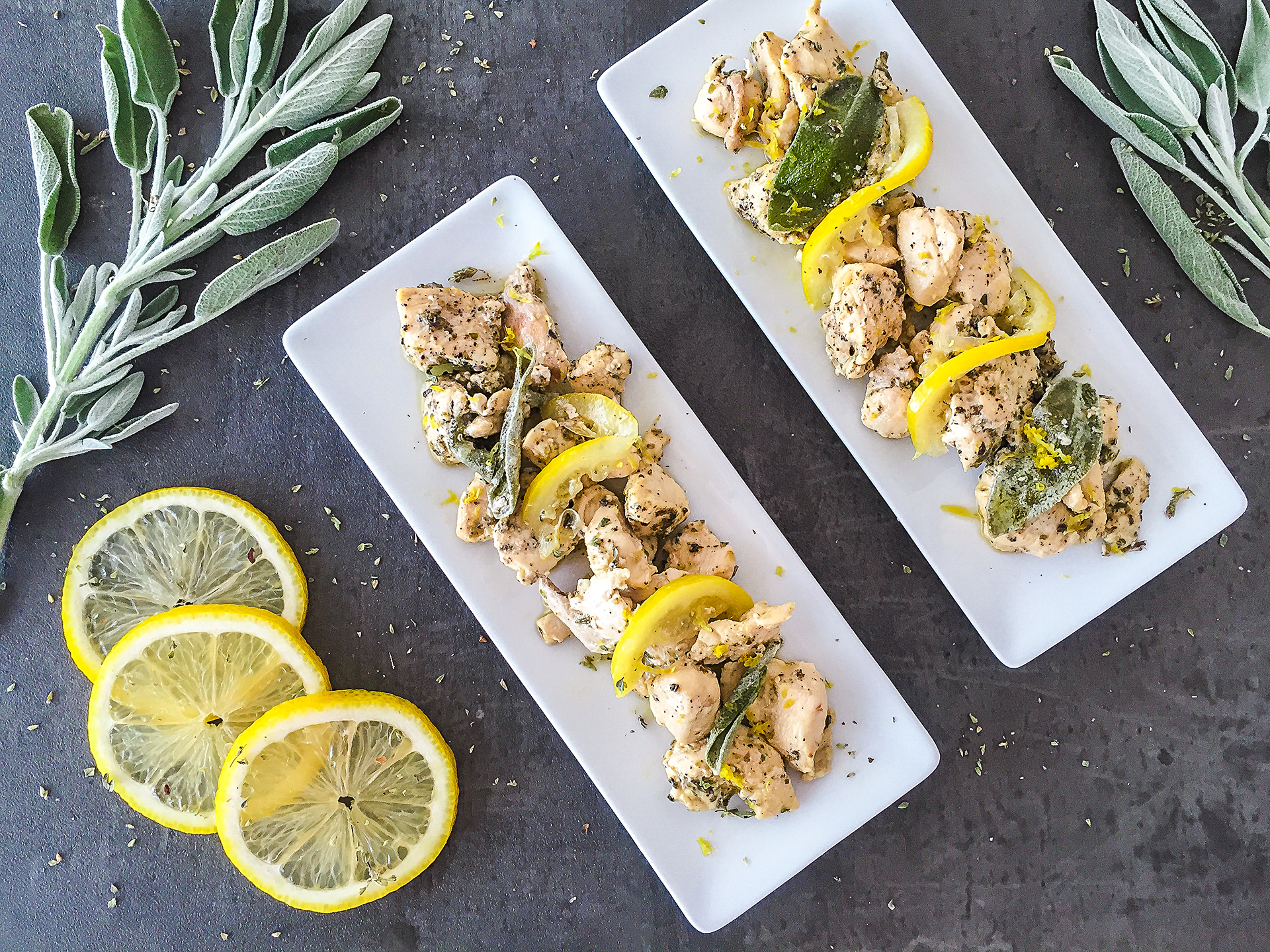 Easy Mediterranean Lemon Chicken with Sage and Oregano Preview