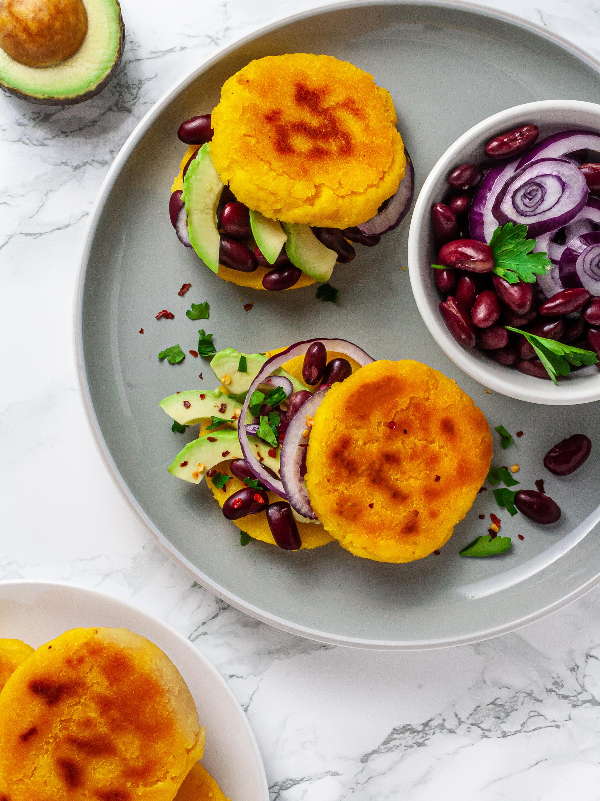 Gluten Free Arepas Recipe Thumbnail