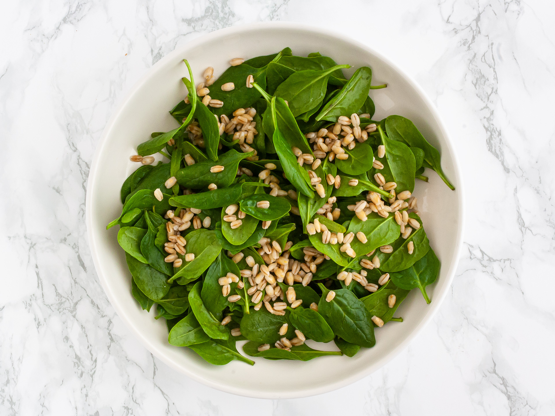 Step 2.1 of Pumpkin Spinach and Feta Salad Recipe