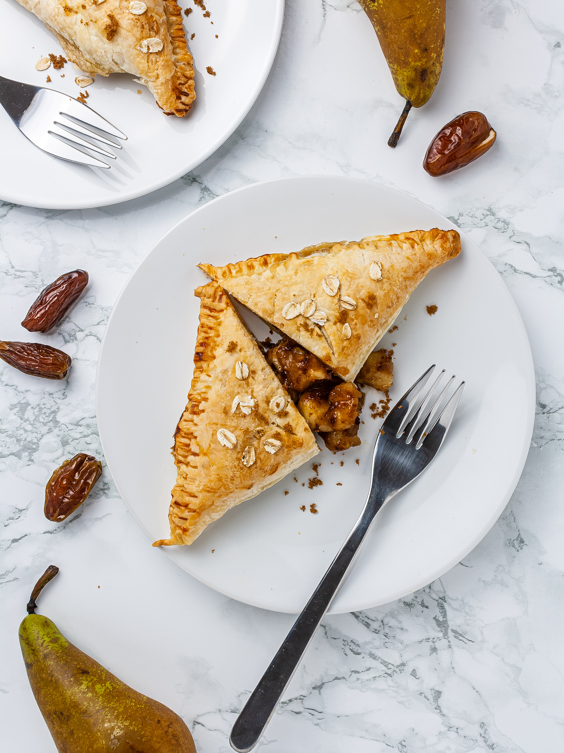 Gluten-Free Pear Turnovers with Dates Recipe