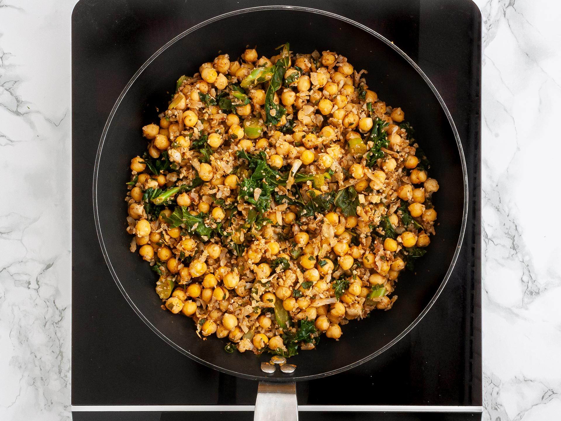 Step 2.1 of Moroccan Cauliflower Rice Recipe