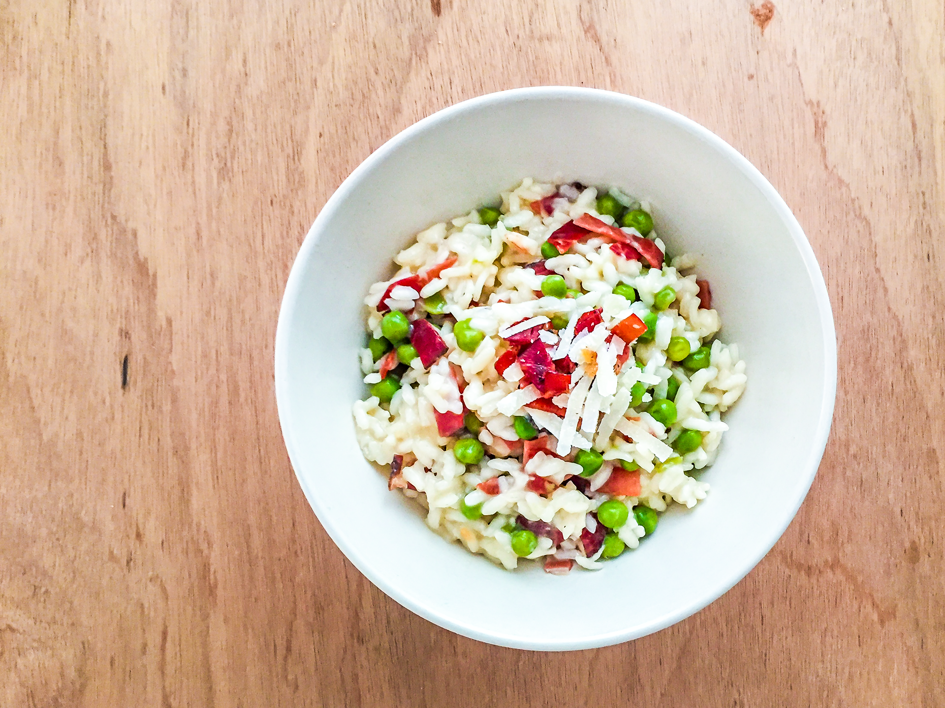 Smoked Ham and Peas Risotto Preview