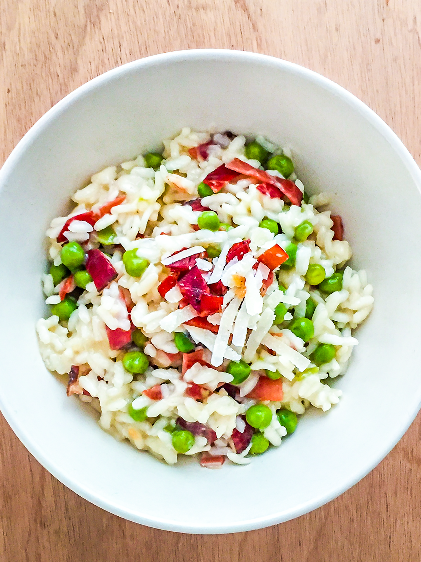 Smoked Ham and Peas Risotto Thumbnail