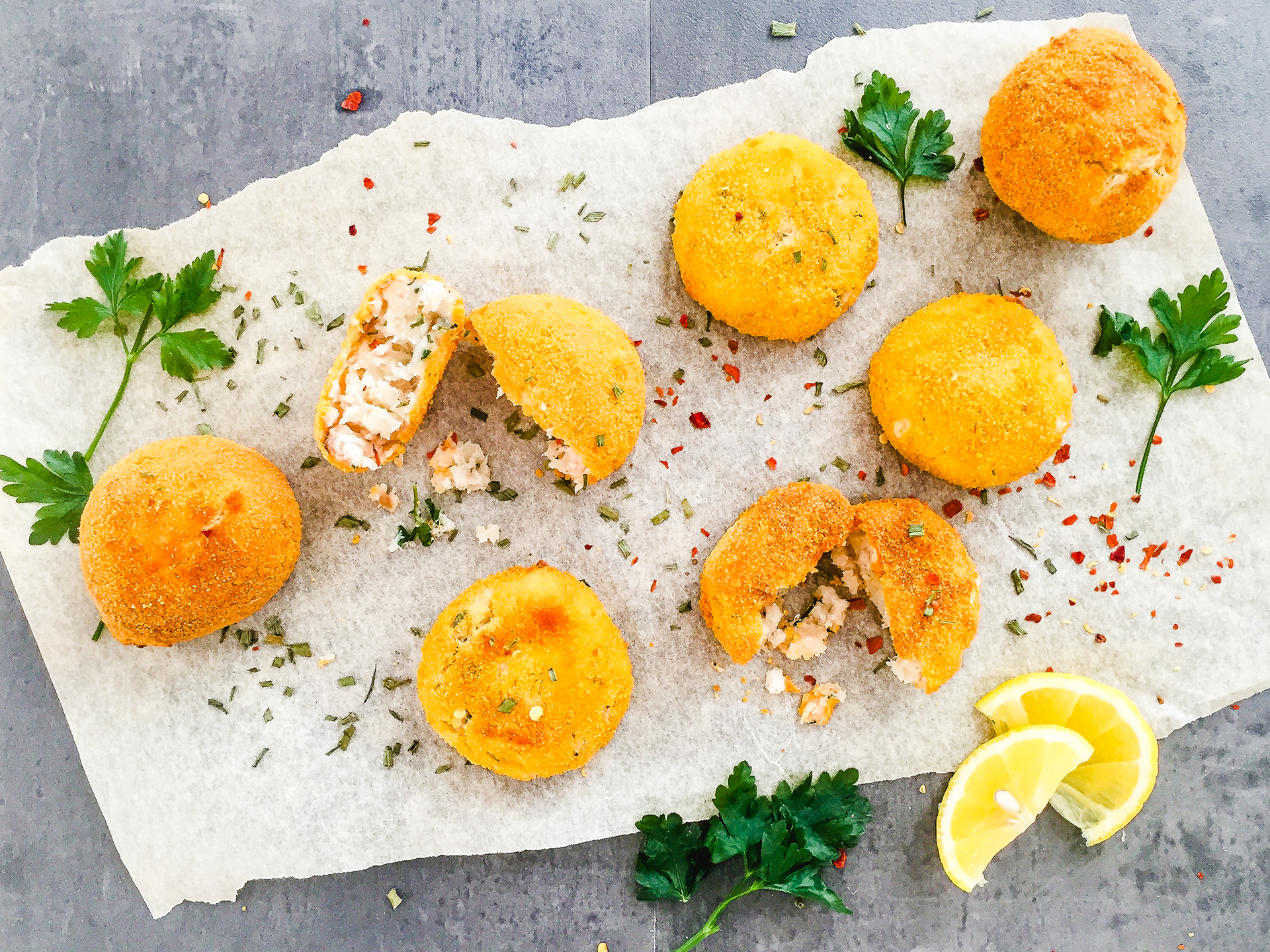 Oven Baked Fish Cakes Preview