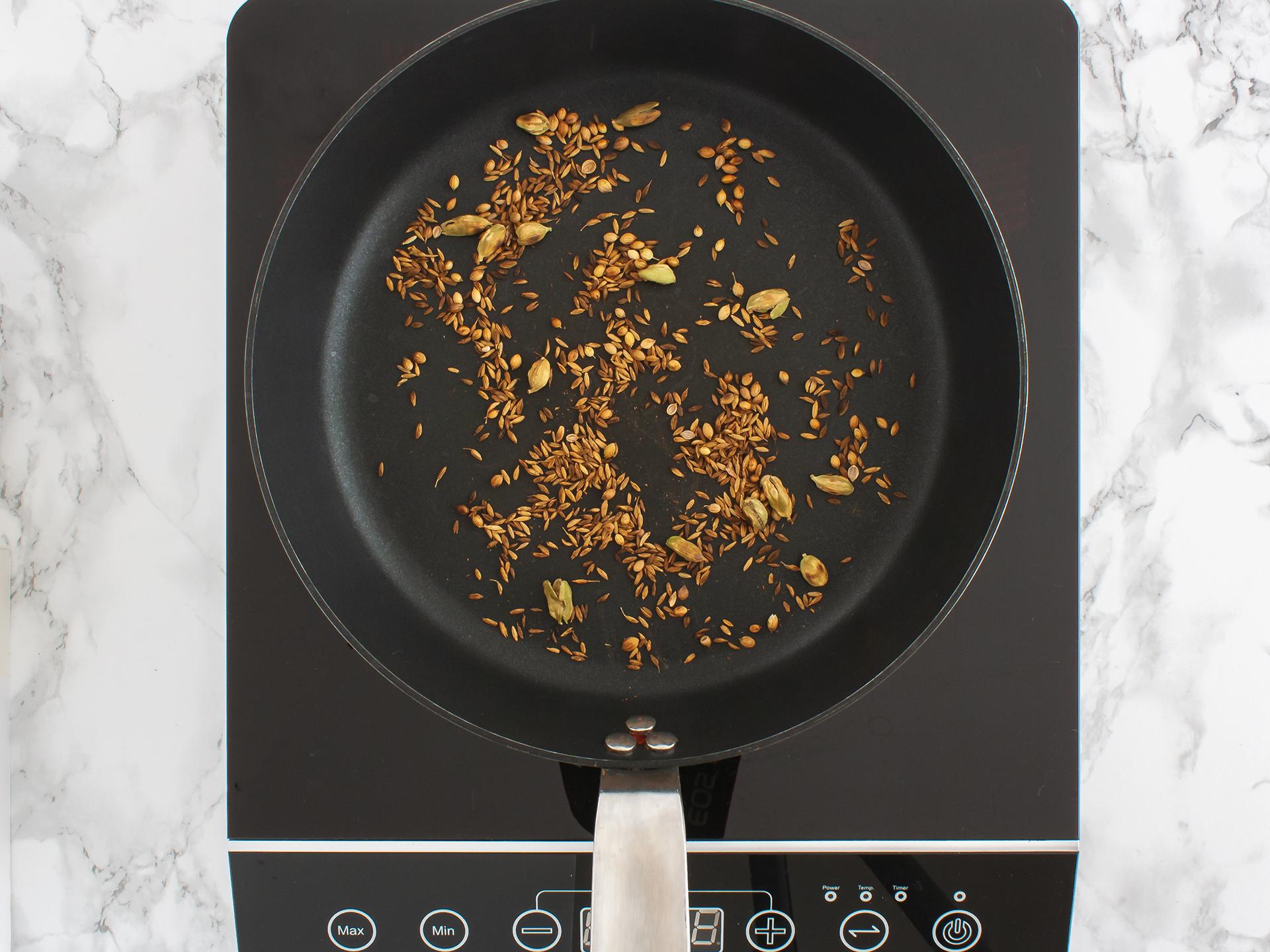 Step 2.1 of Baked Black Bean and Sweet Potato Falafels