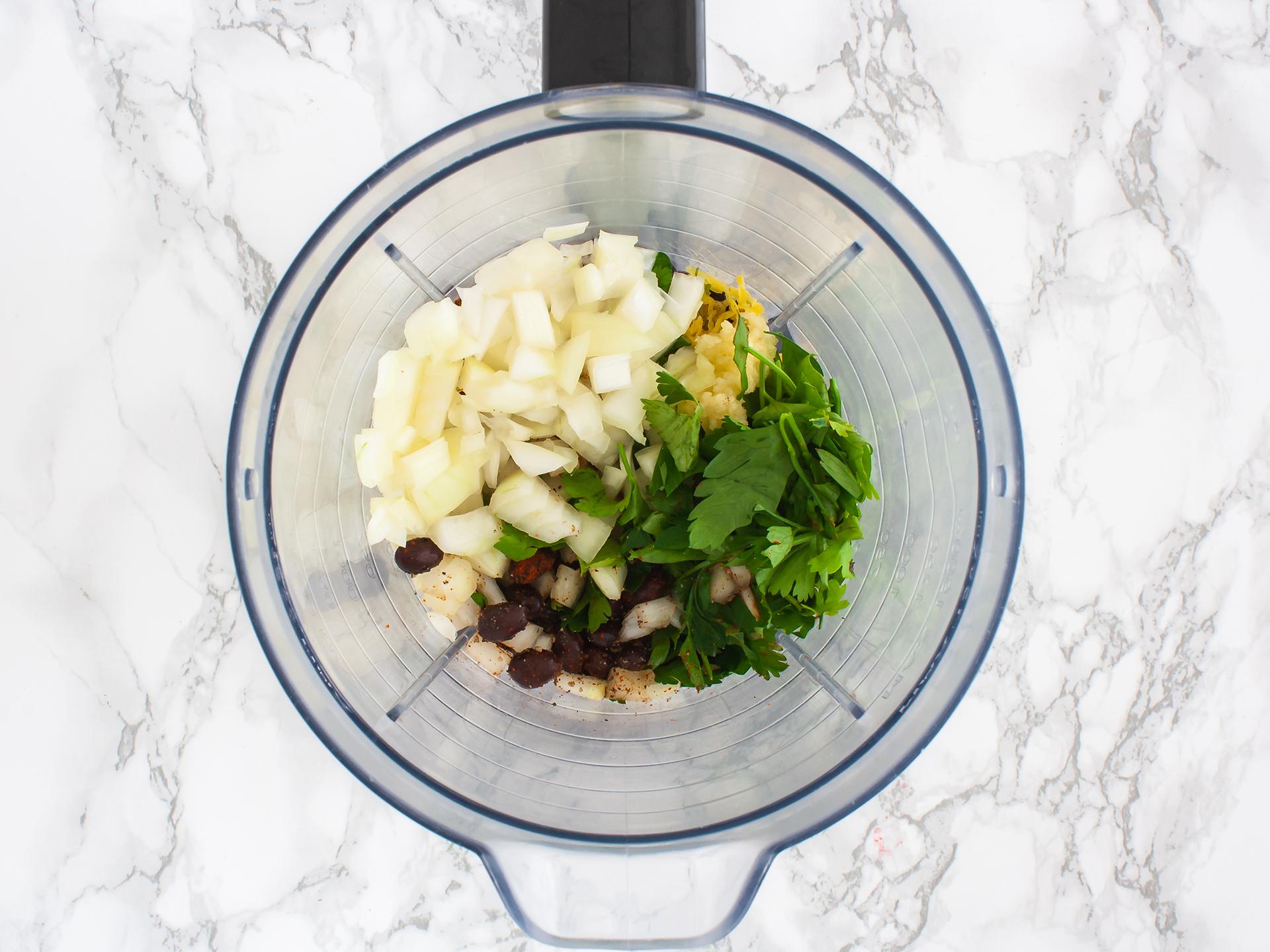 Step 3.1 of Baked Black Bean and Sweet Potato Falafels