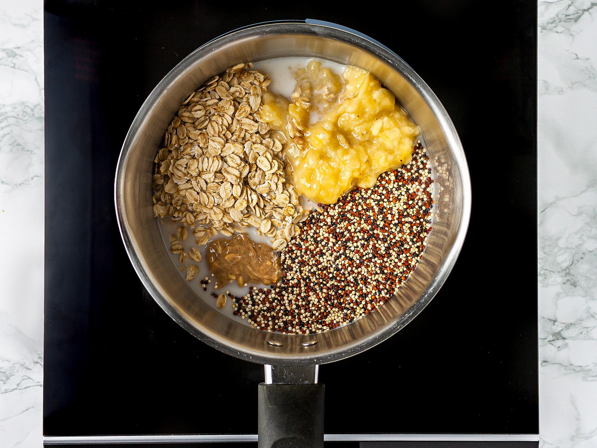 Step 1.1 of Peanut Porridge Recipe