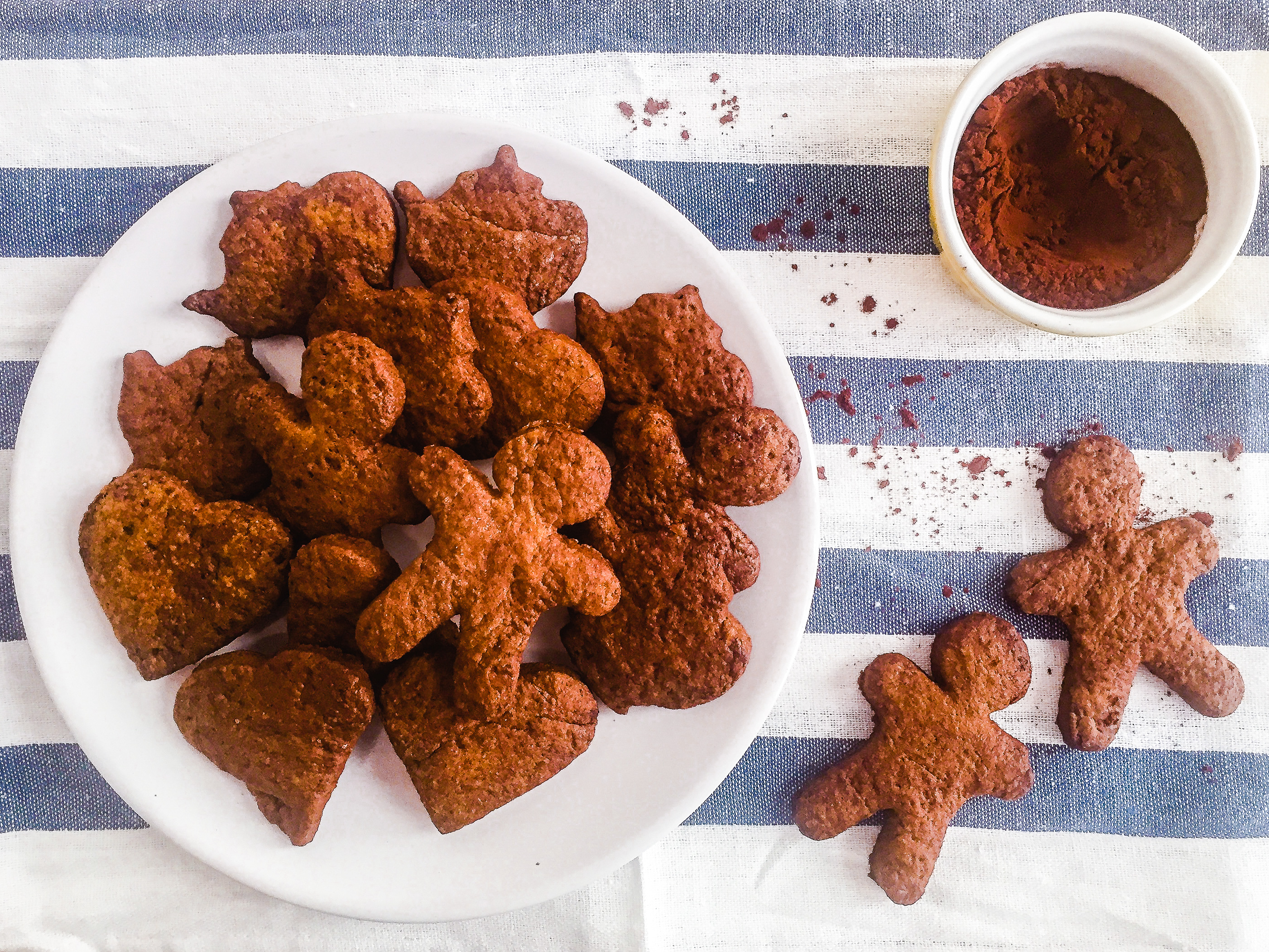 Dairy Free Cacao and Orange Cookies Preview