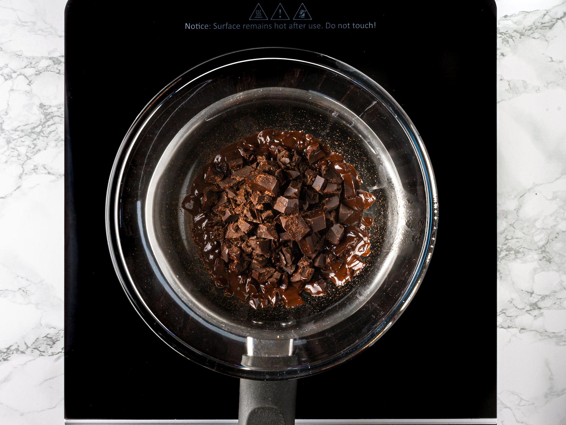 Step 1.1 of Chocolate Honey Truffles Recipe