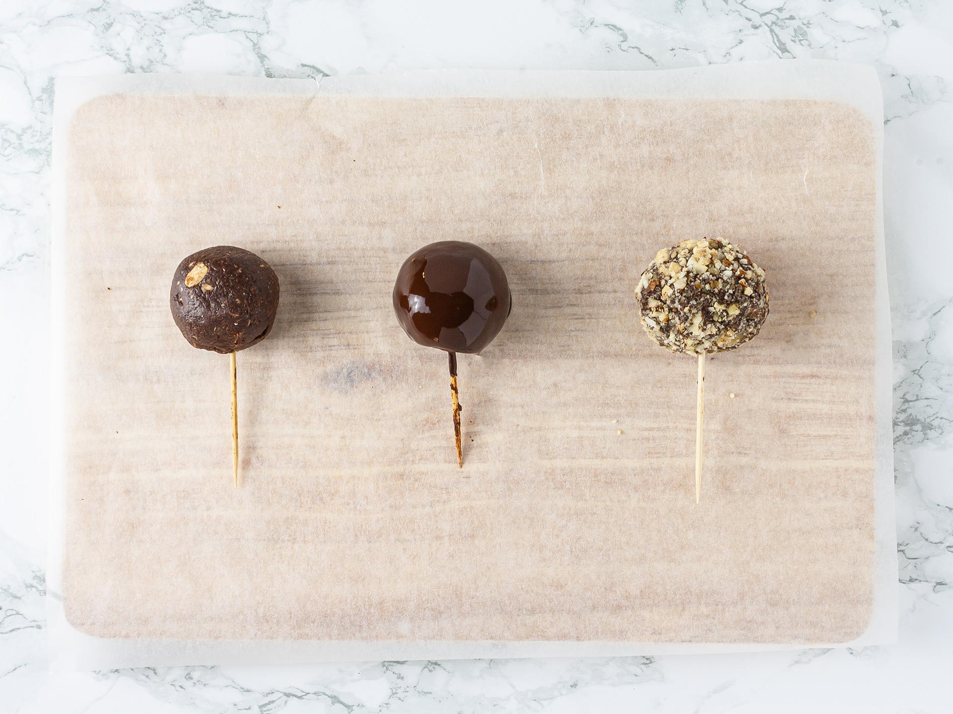 Step 4.1 of Chocolate Honey Truffles Recipe