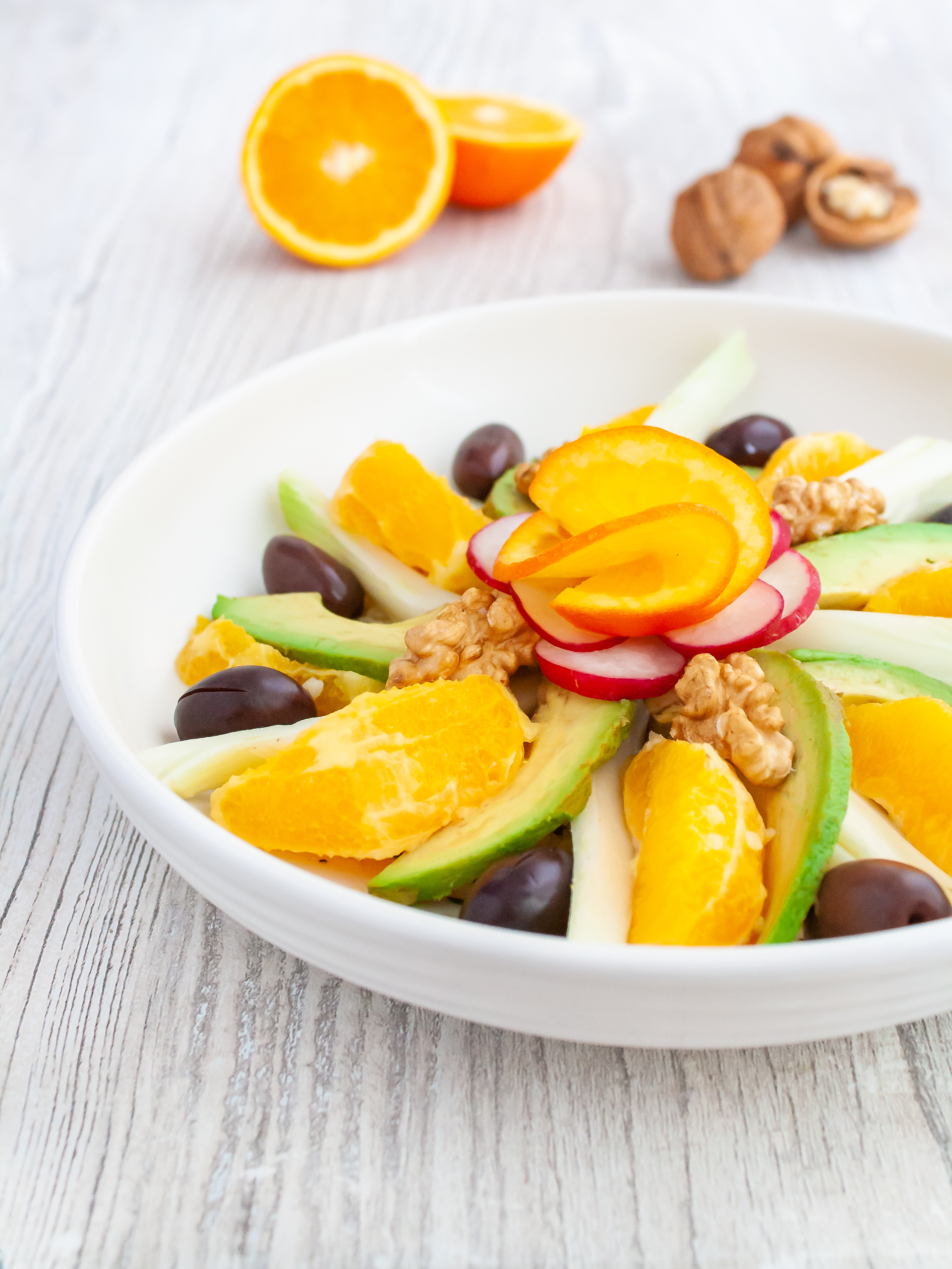 Orange, Fennel and Avocado Salad Bowl with Quinoa Thumbnail