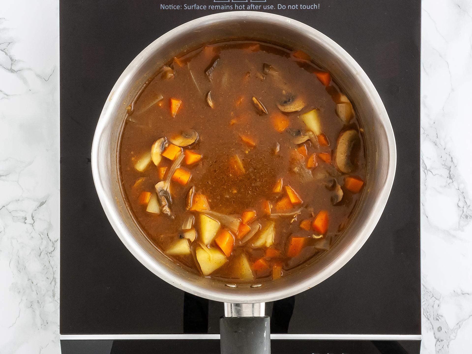 Step 2.1 of Sweet Potato Katsu Curry Recipe