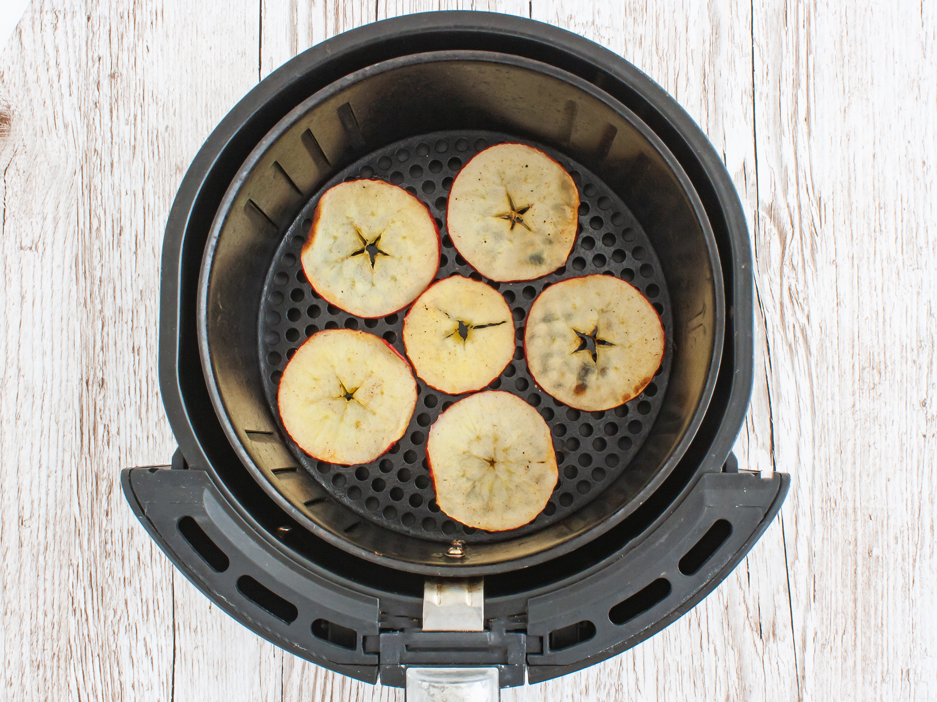 Step 2.2 of Air Fryer Apple Chips