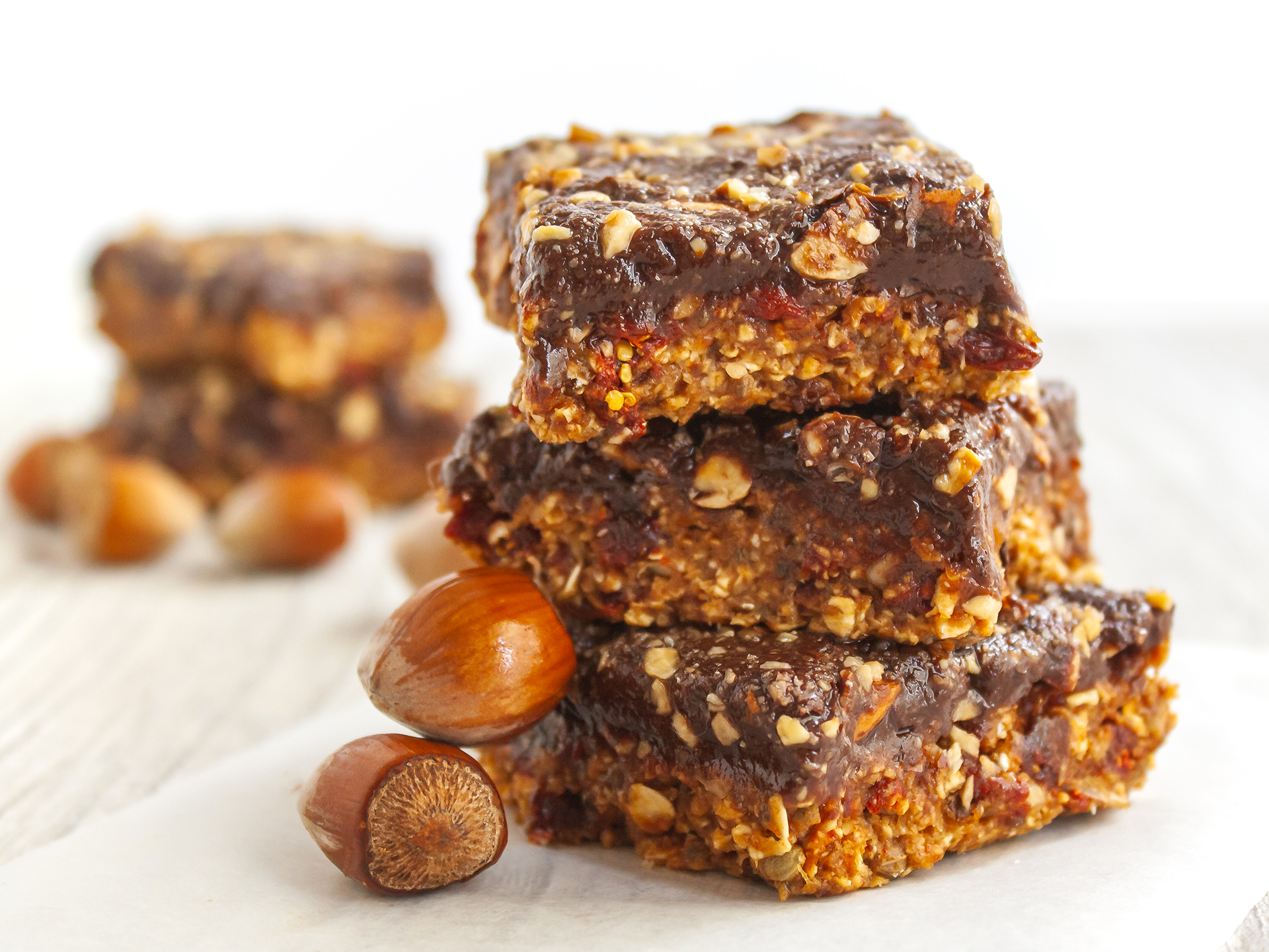 Vegan High Protein High Fiber Date Energy Bars
