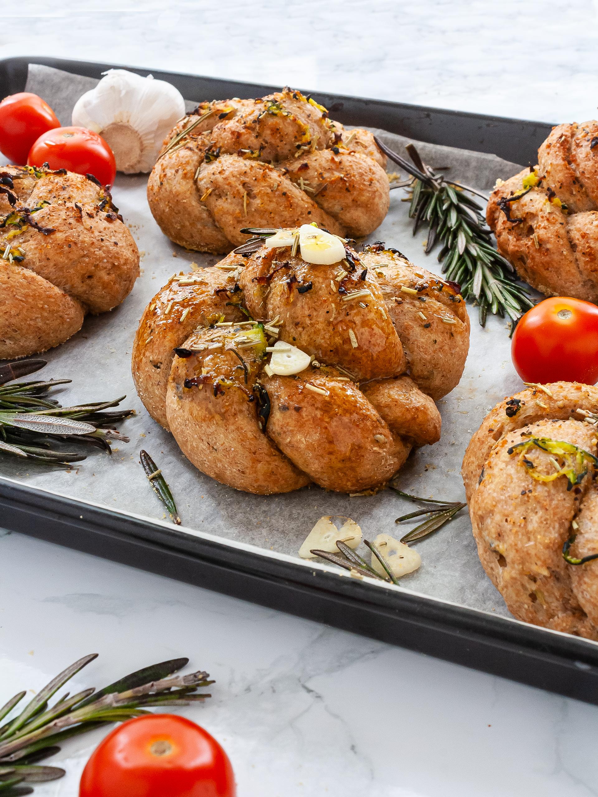 Zucchini Garlic Bread Recipe