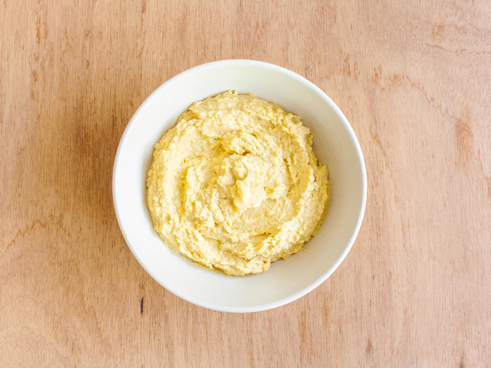 Step 3.1 of Classic Hummus