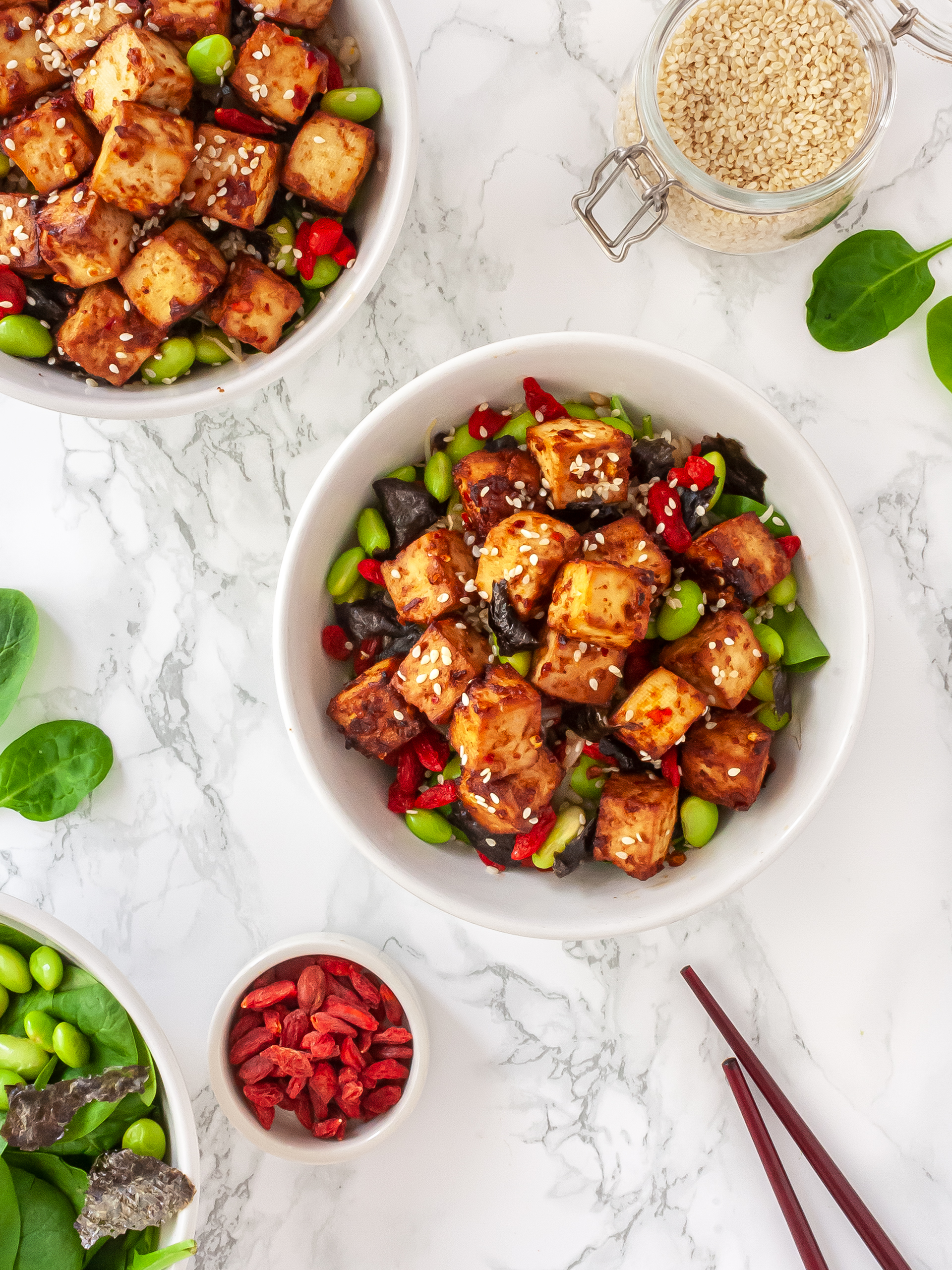 Miso Marinated Tofu Recipe Preview