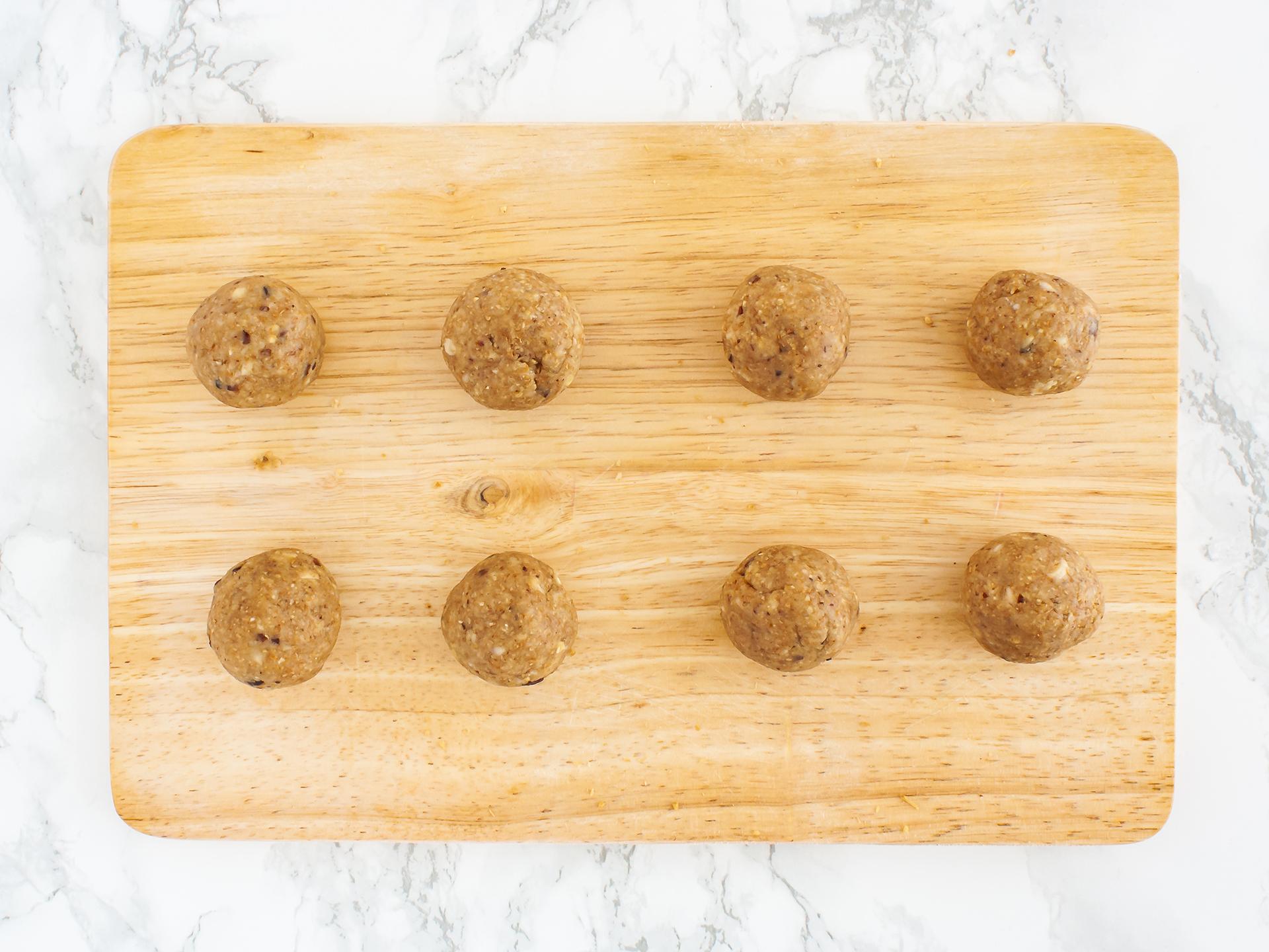 Step 2.2 of Chocolate and Coconut Cashew Truffles Recipe