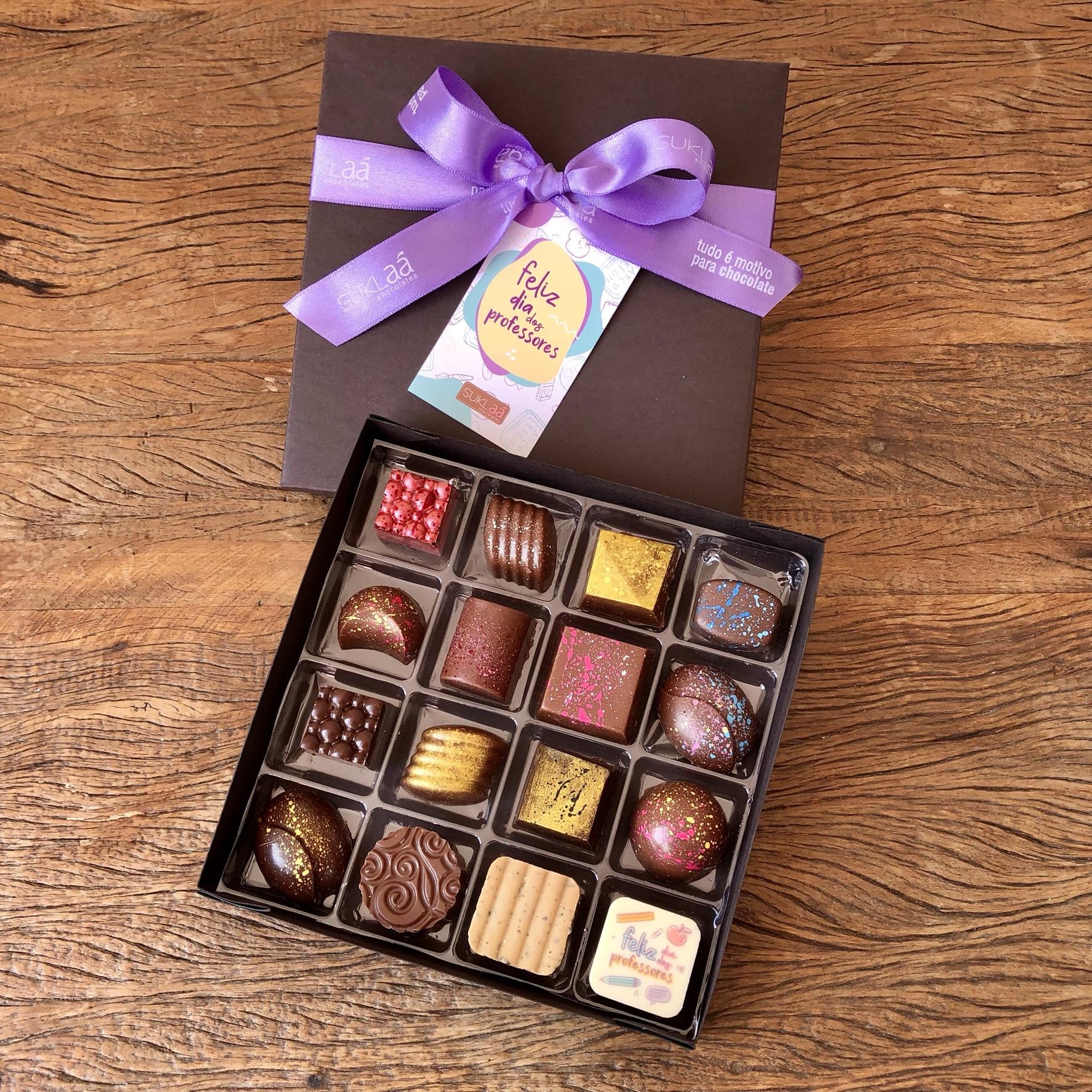 Chocolab 16 bombons - Dia dos Professores