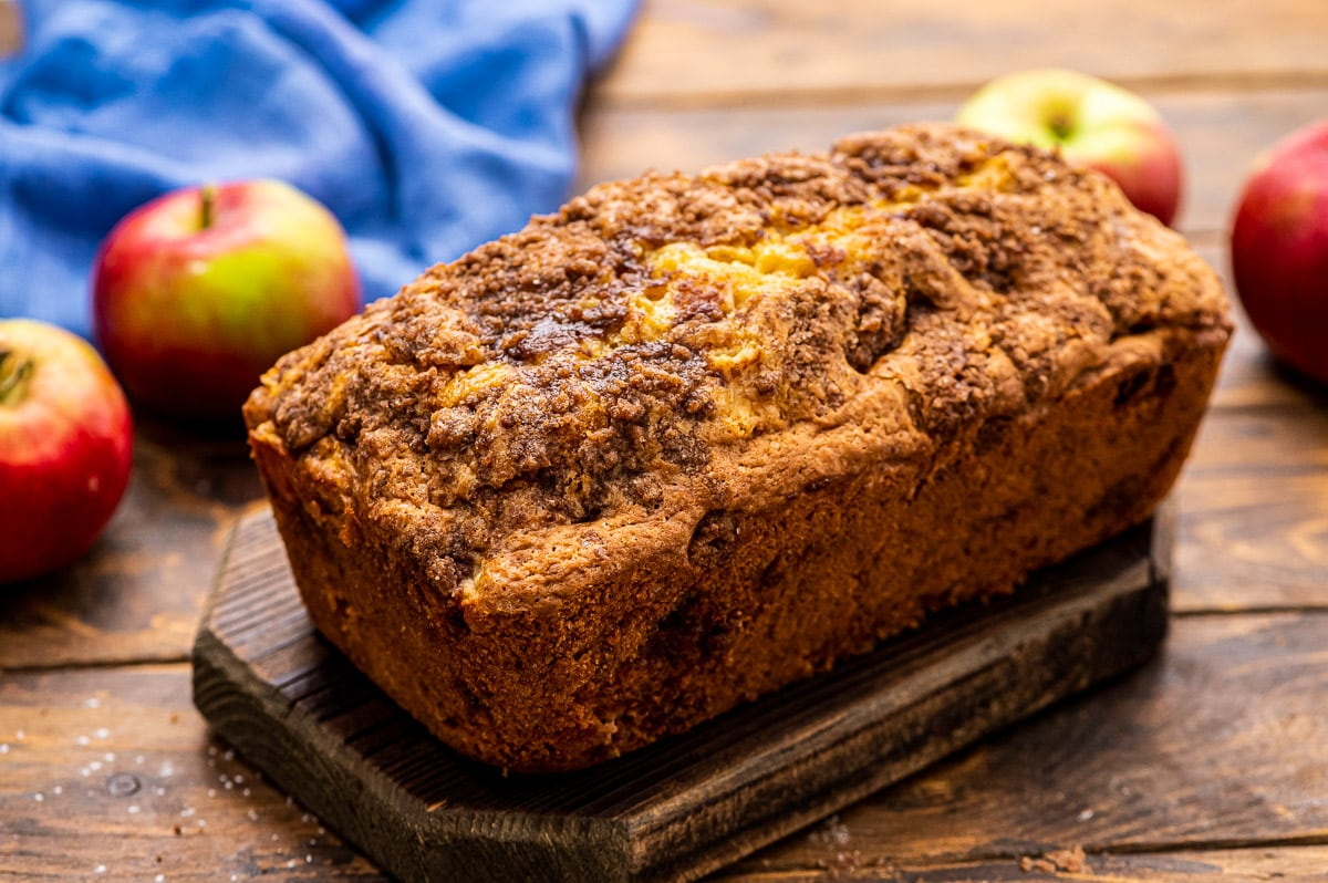Image of Streusel Apple Bread