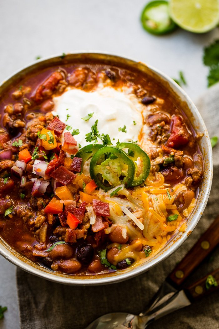 Award Winning Healthy Turkey Instant PotChili