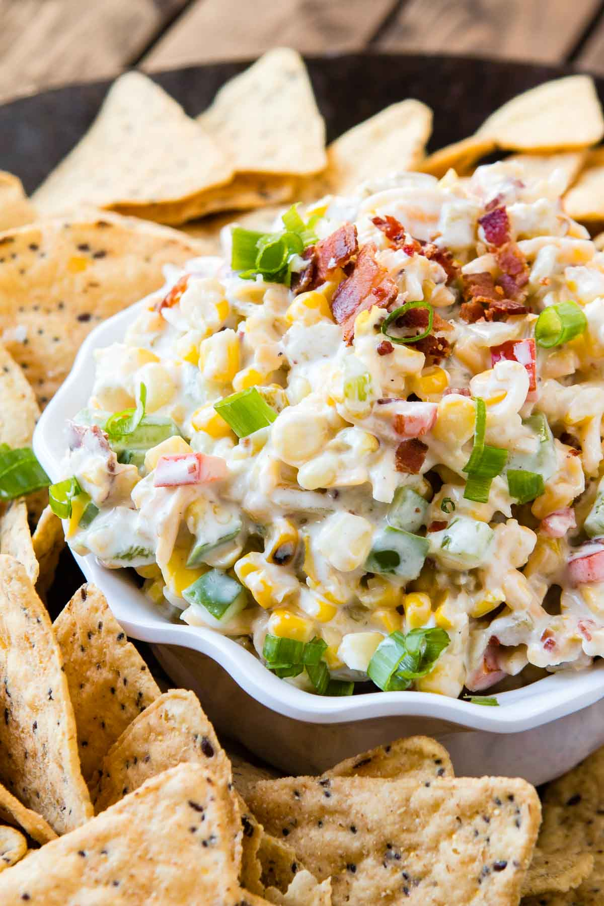 Bacon Ranch Corn Dip